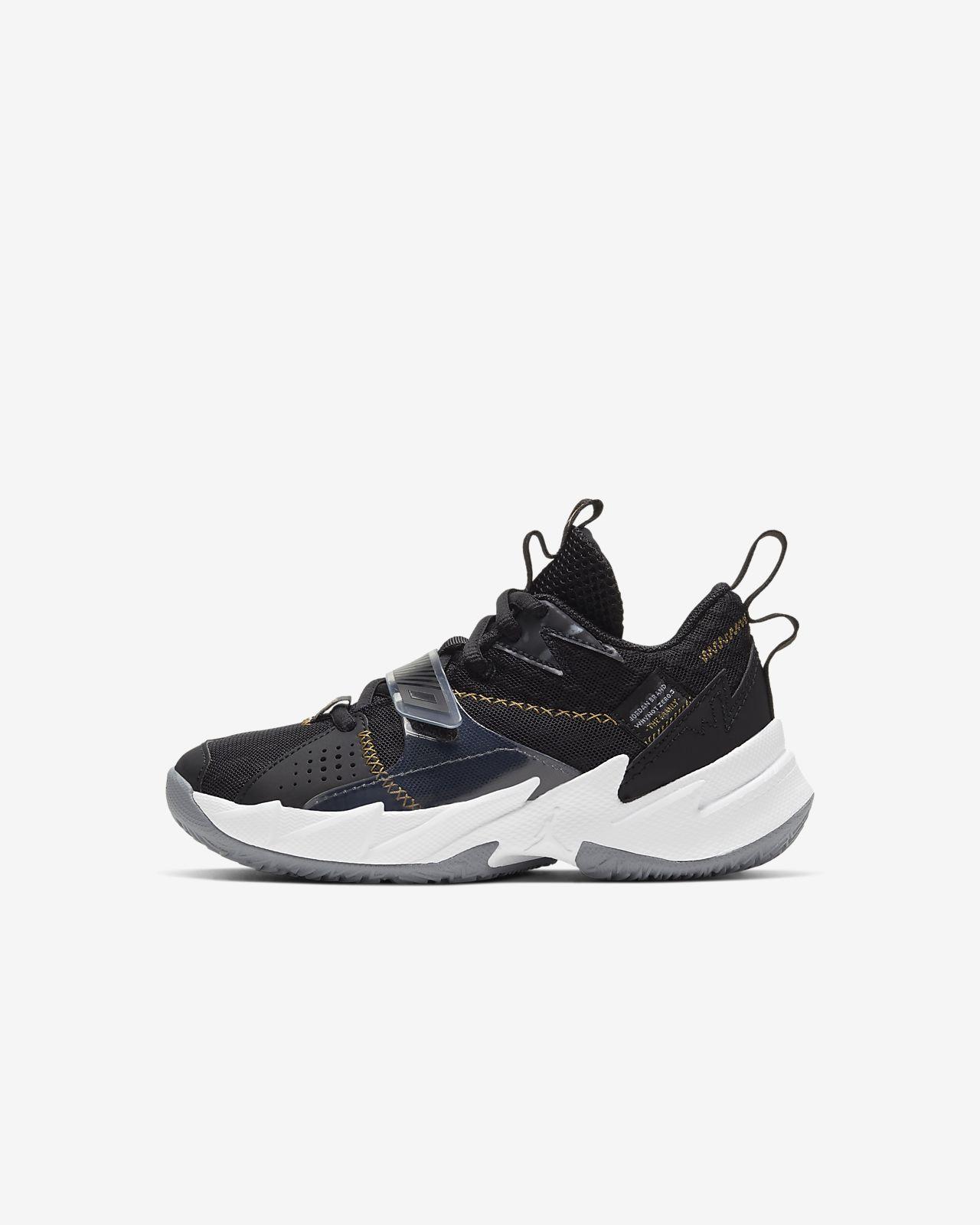 """Jordan """"Why Not?"""" Zer0.3 Little Kids' Shoe"""