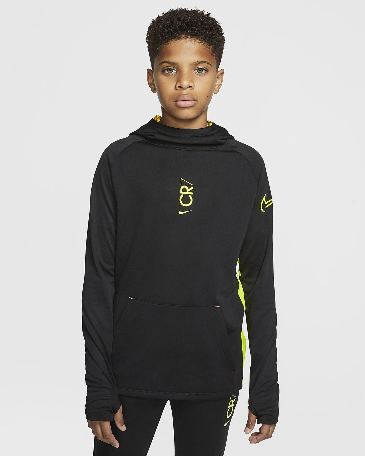 Nike Dri-FIT CR7 Fußball-Hoodie für ältere Kinder