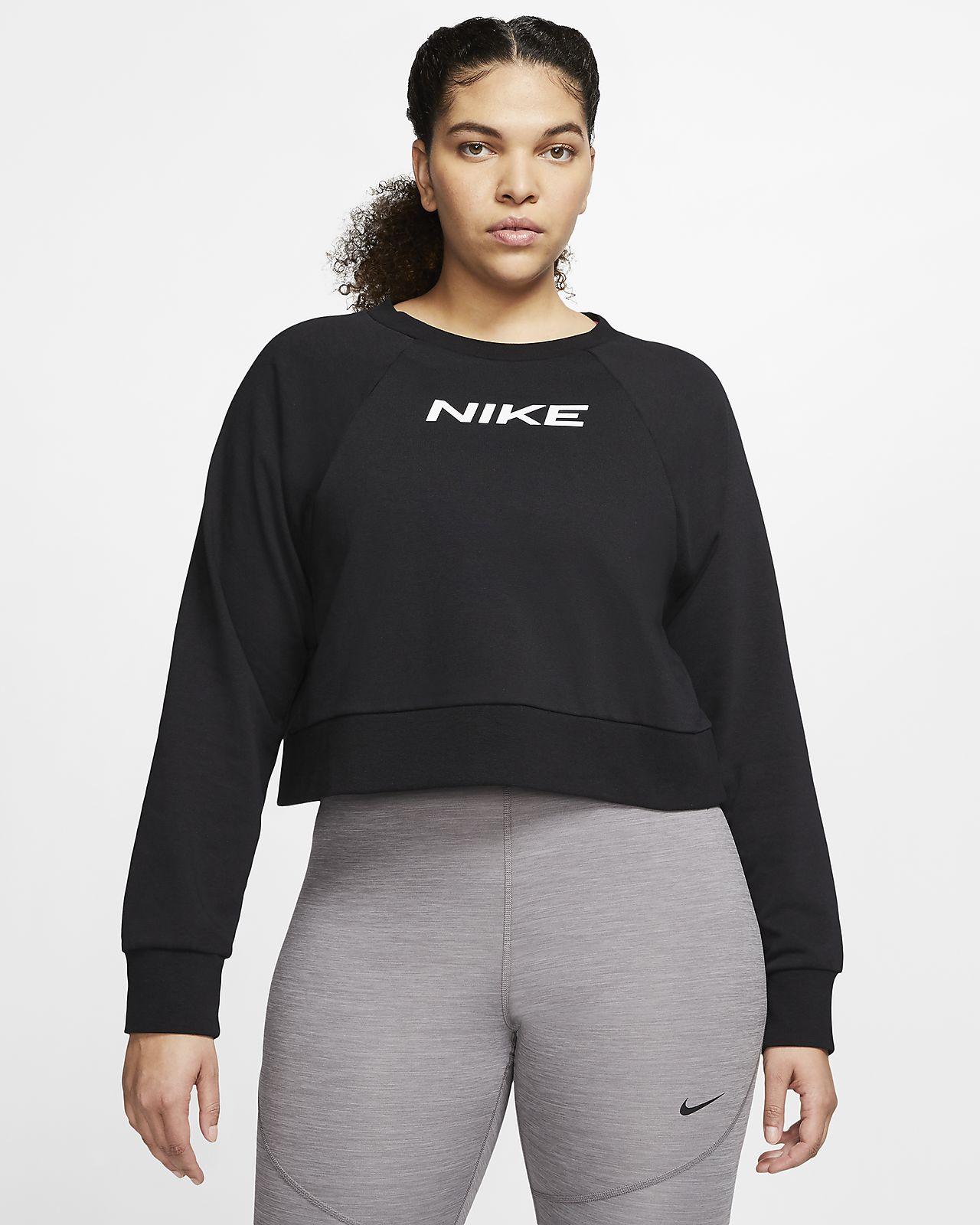 Damska bluza treningowa Nike (duże rozmiary)