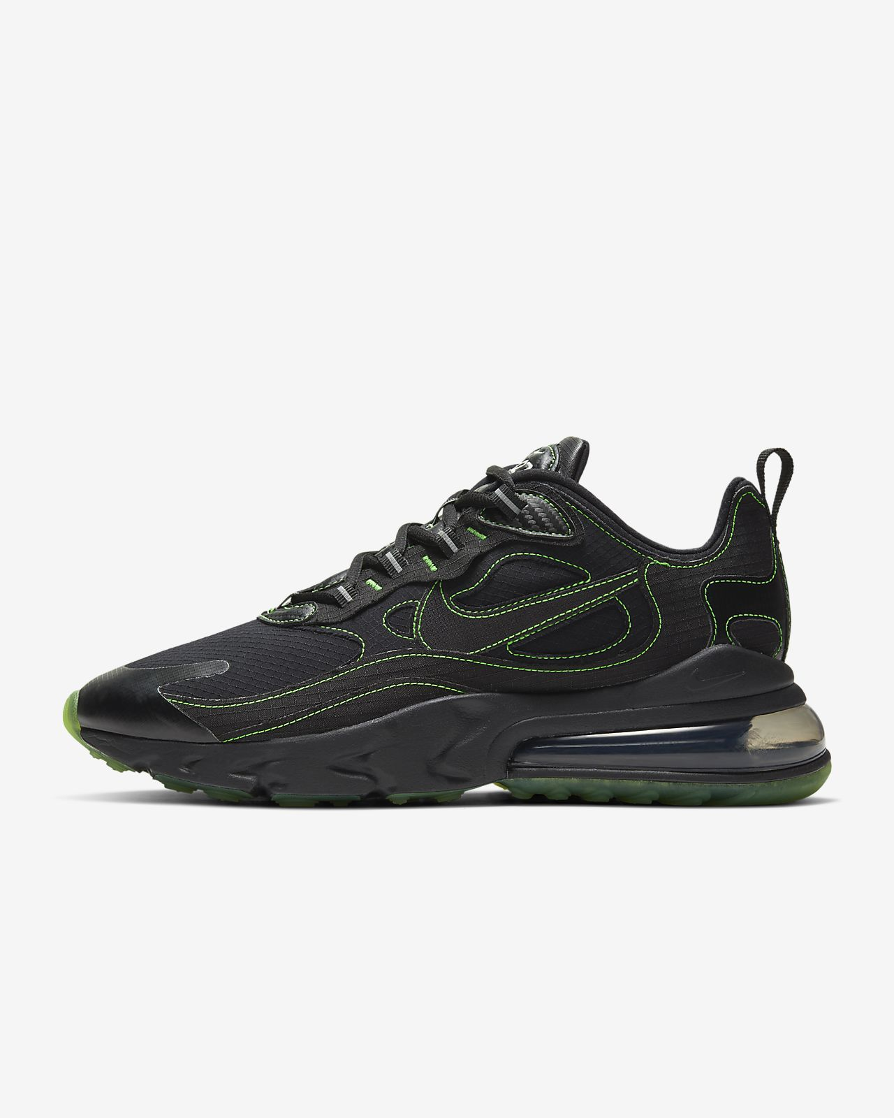 Nike Air Max 270 ReactV Black Green CQ6549 001 |