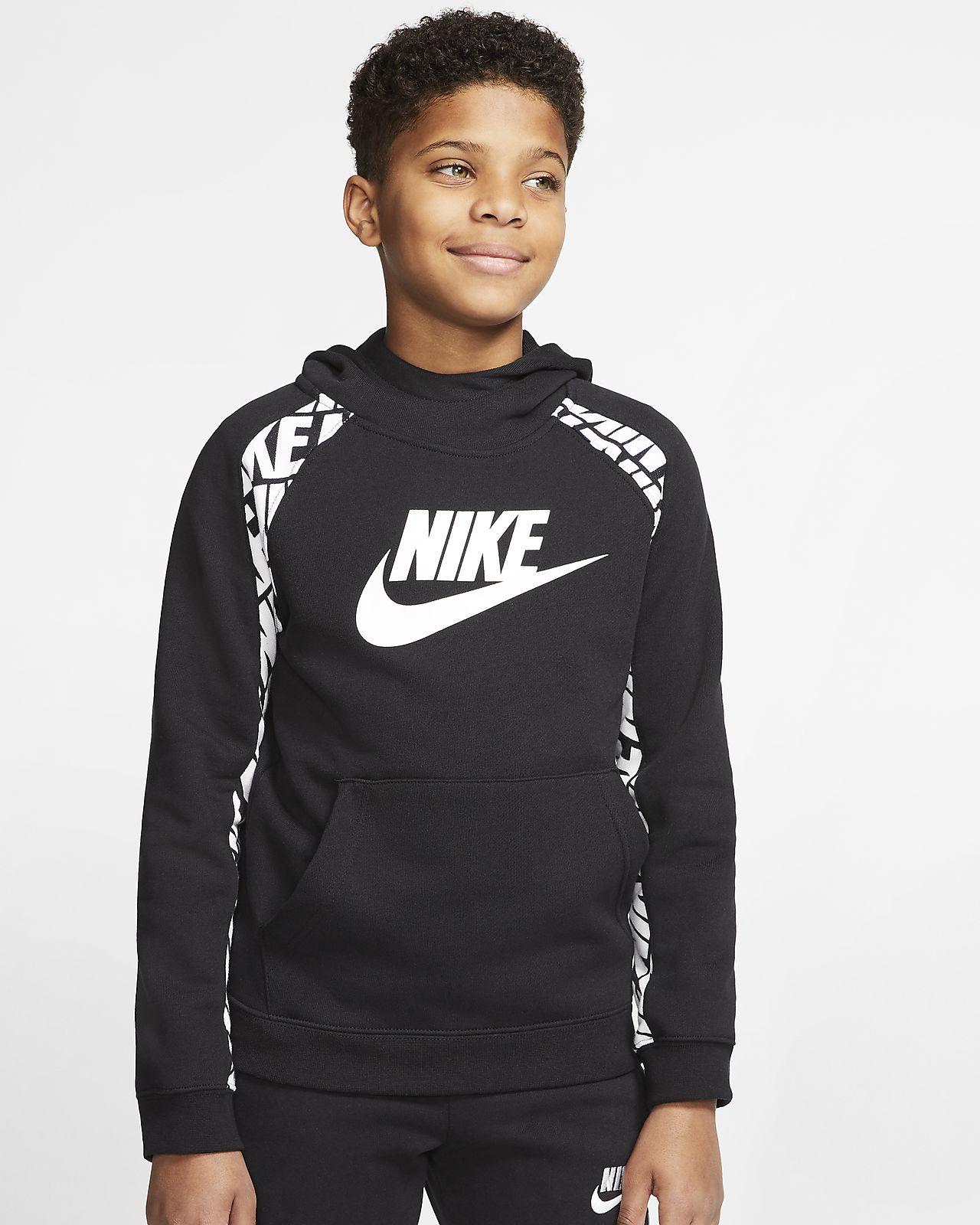 Nike Therma Erkek Çocuk Kapüşonlu Sweatshirt