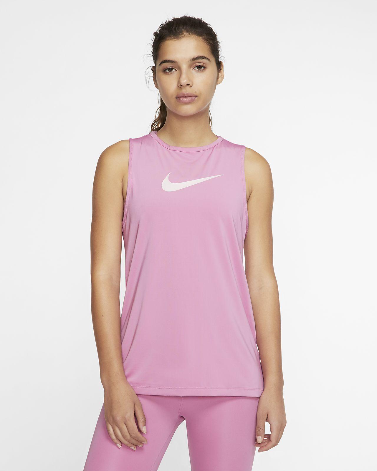 Женская майка с логотипом Swoosh Nike Pro