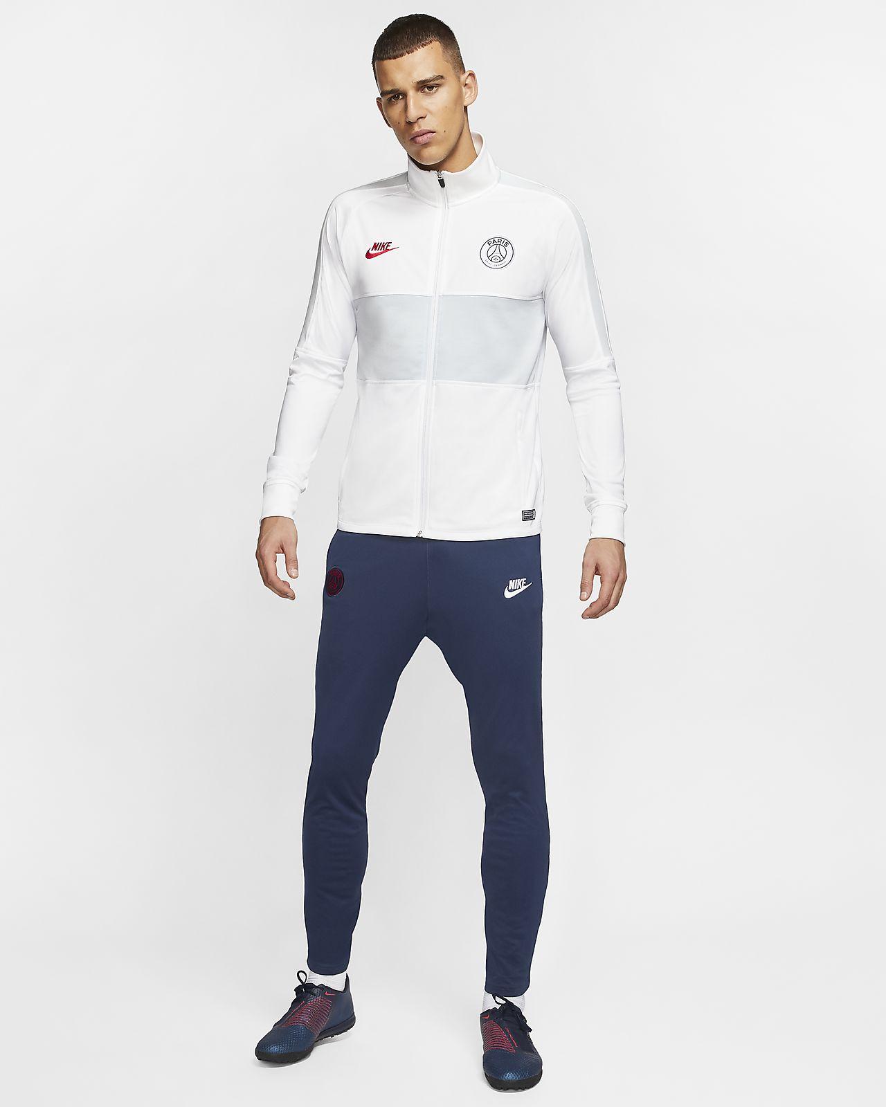 Męski dres piłkarski Nike Dri FIT Paris Saint Germain Strike