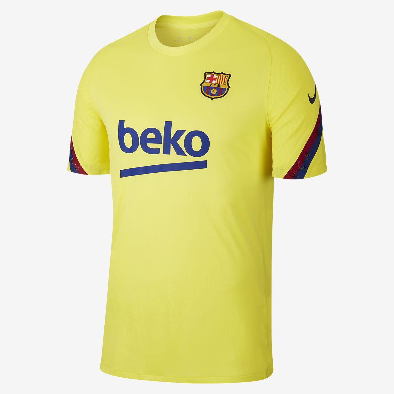 Maglia da calcio a manica corta FC Barcelona Strike - Uomo