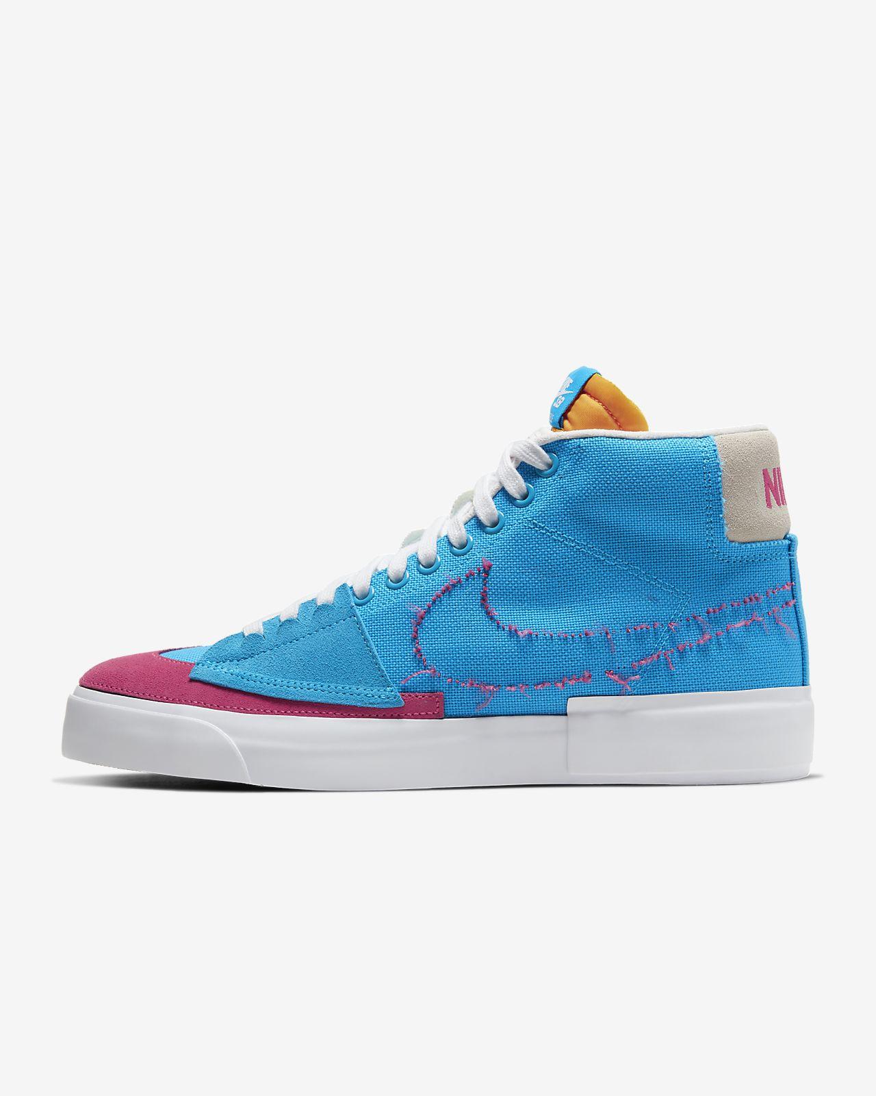Zoom Scarpa Nike SB Blazer Mid da skateboard Edge n0kOP8wX