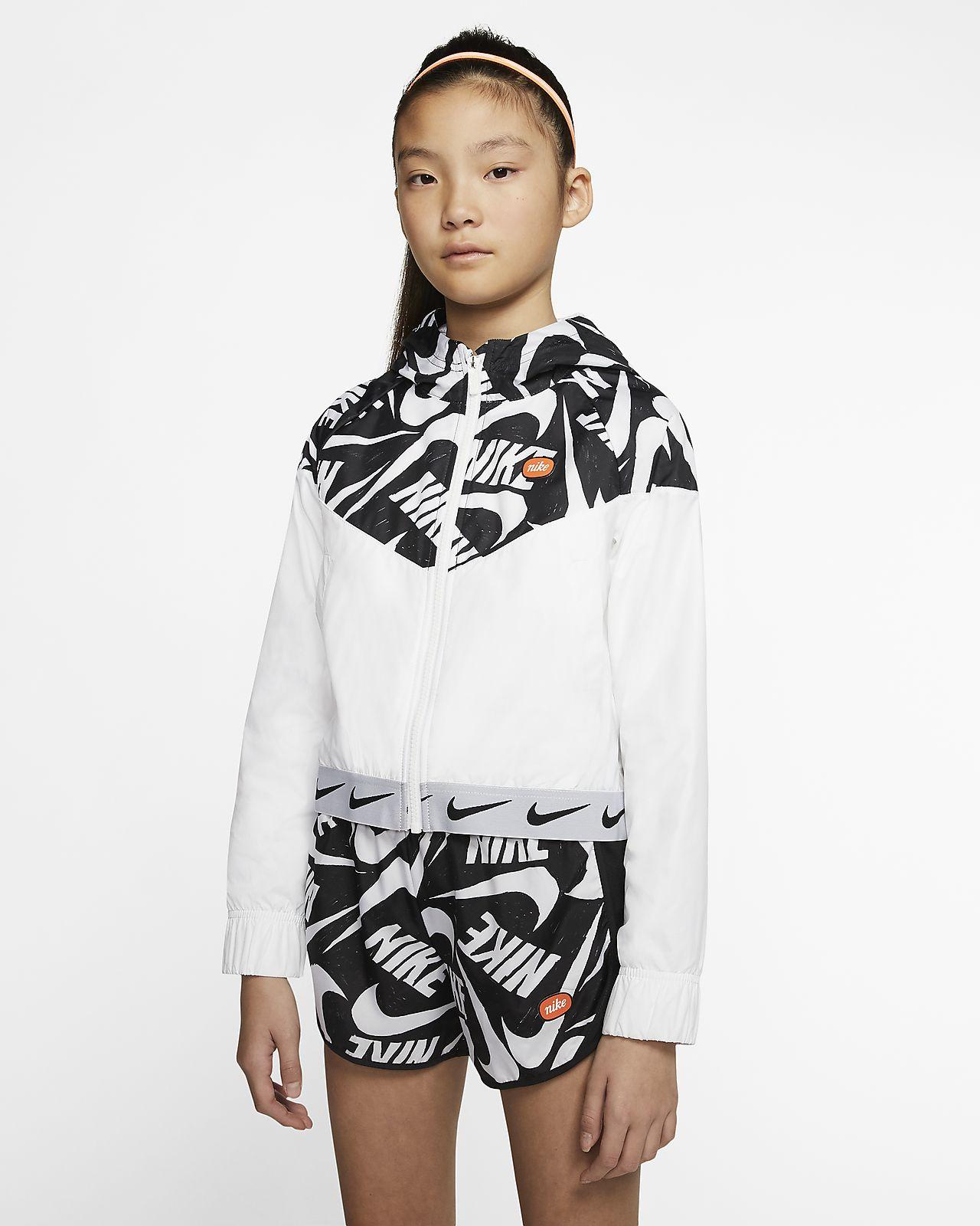 Nike Sportswear Windrunner jakke til store barn (jente)