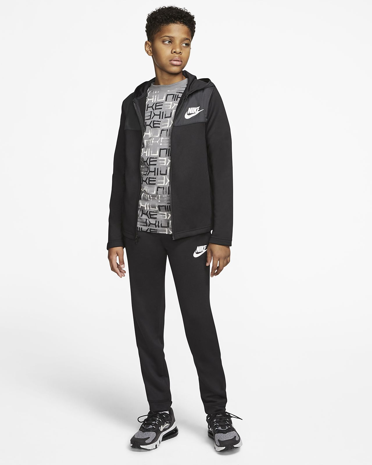Nike Sportswear-tracksuit til store børn (drenge)
