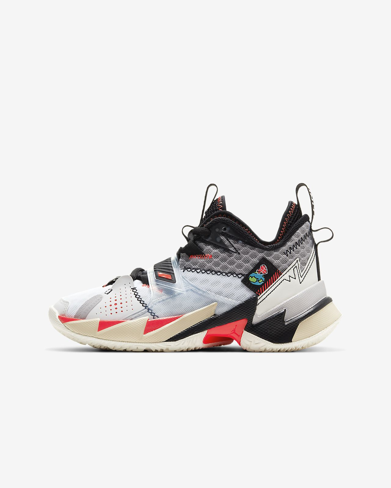 "Jordan ""Why Not?"" Zer0.3 Big Kids' Basketball Shoe"