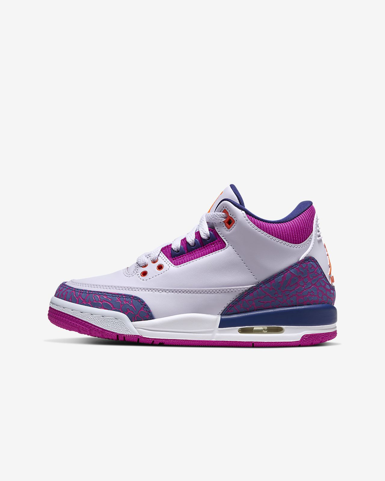 new list where to buy delicate colors Air Jordan 3 Retro Big Kids' Shoe. Nike.com