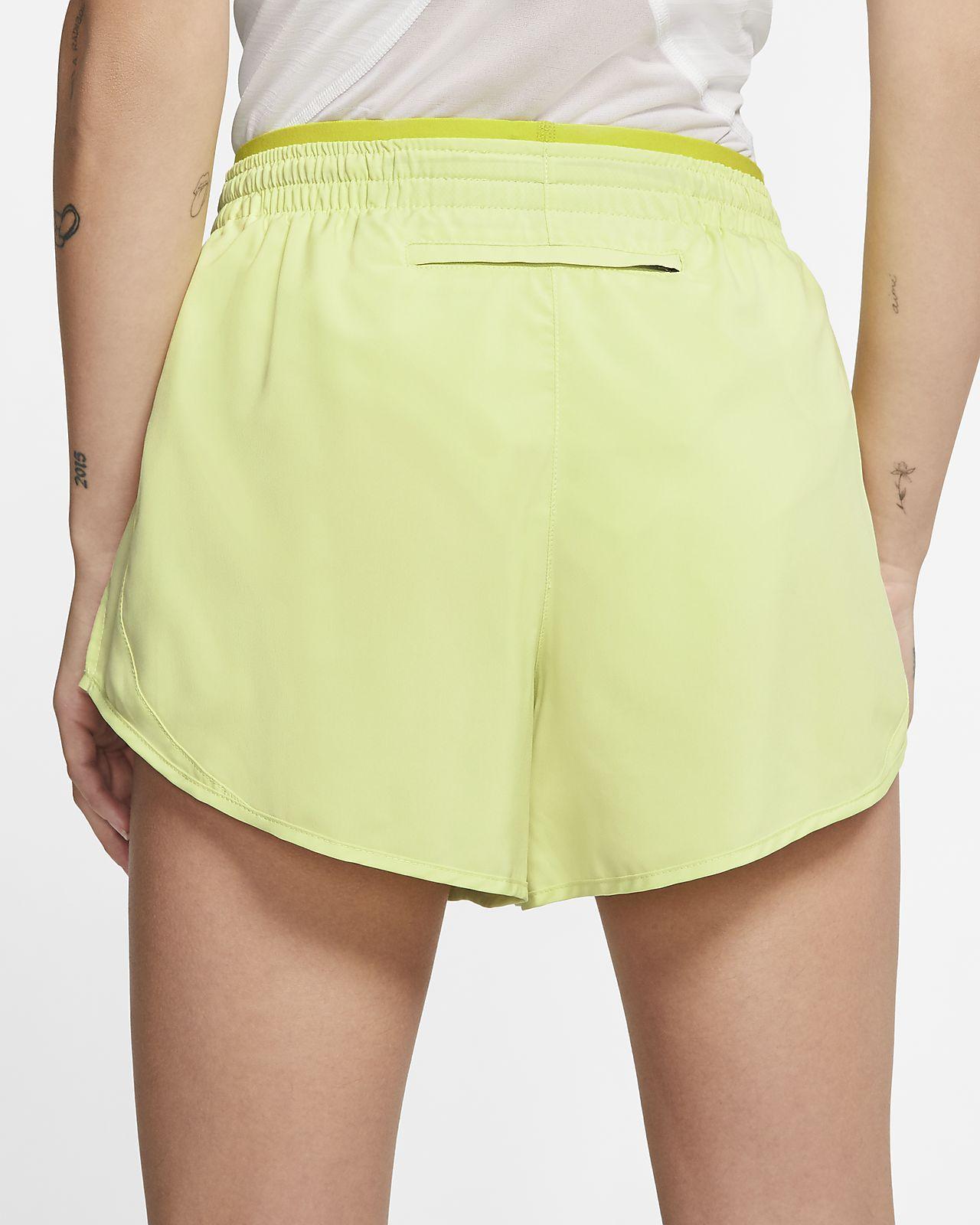Nike Tempo White Women's 3 inch Running Shorts