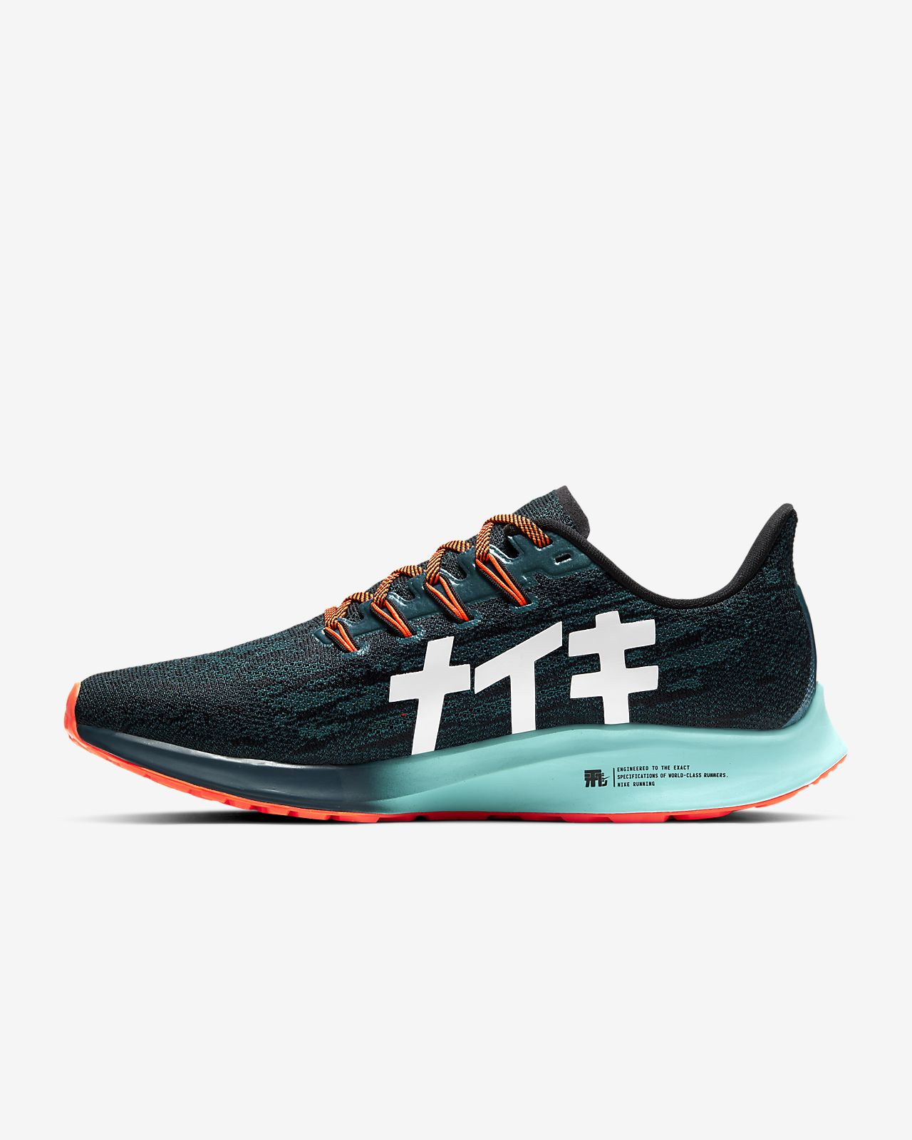 Turquoise Chaussures Femme Nike Air Zoom NikeOrangé gfb67Yy