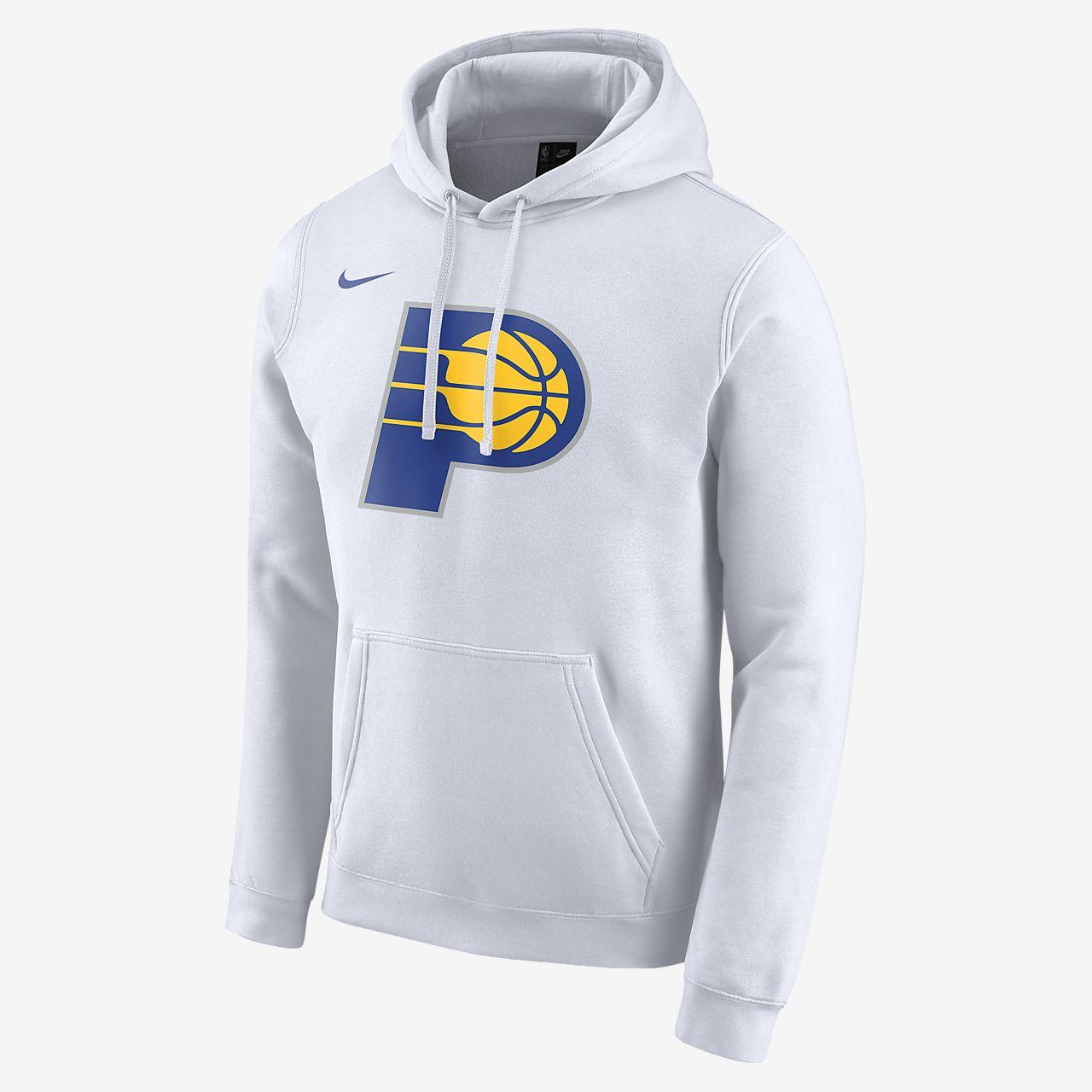 Męska bluza z kapturem NBA Nike Pacers City Edition Logo