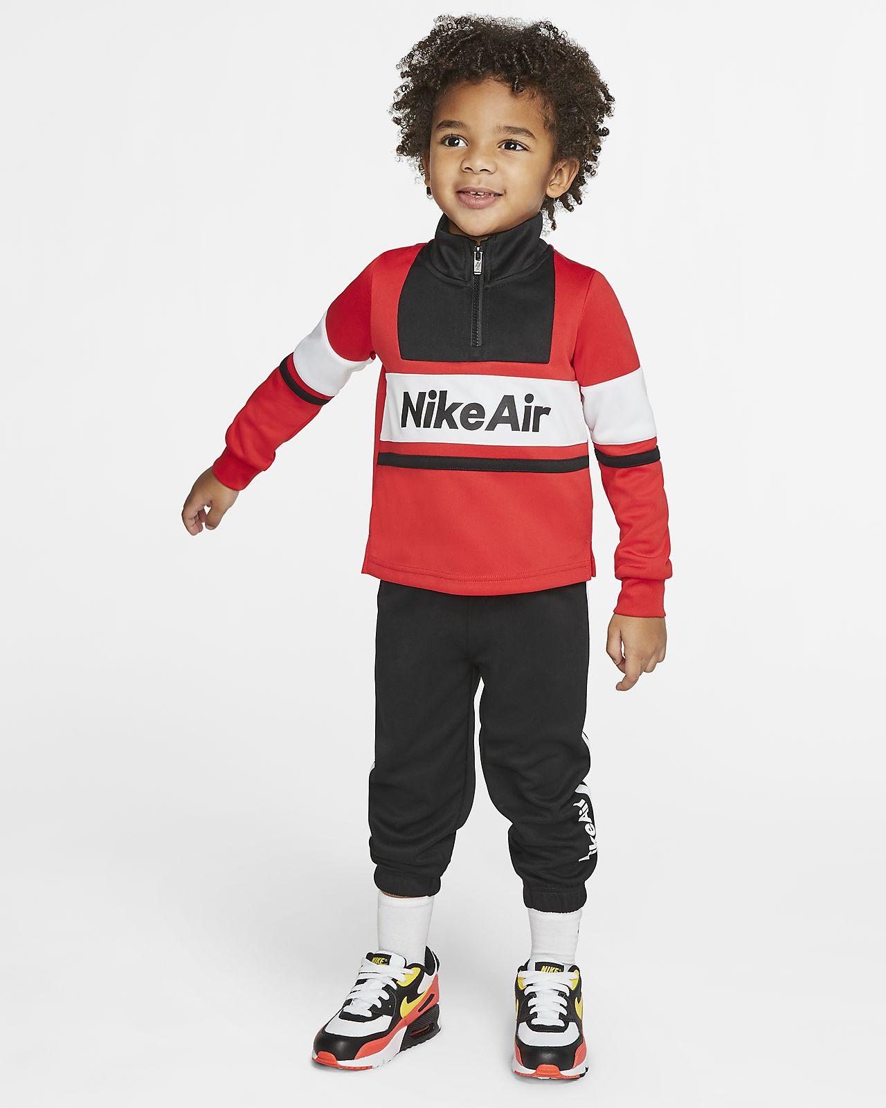Zestaw sweter i joggery dla maluchów Nike Air