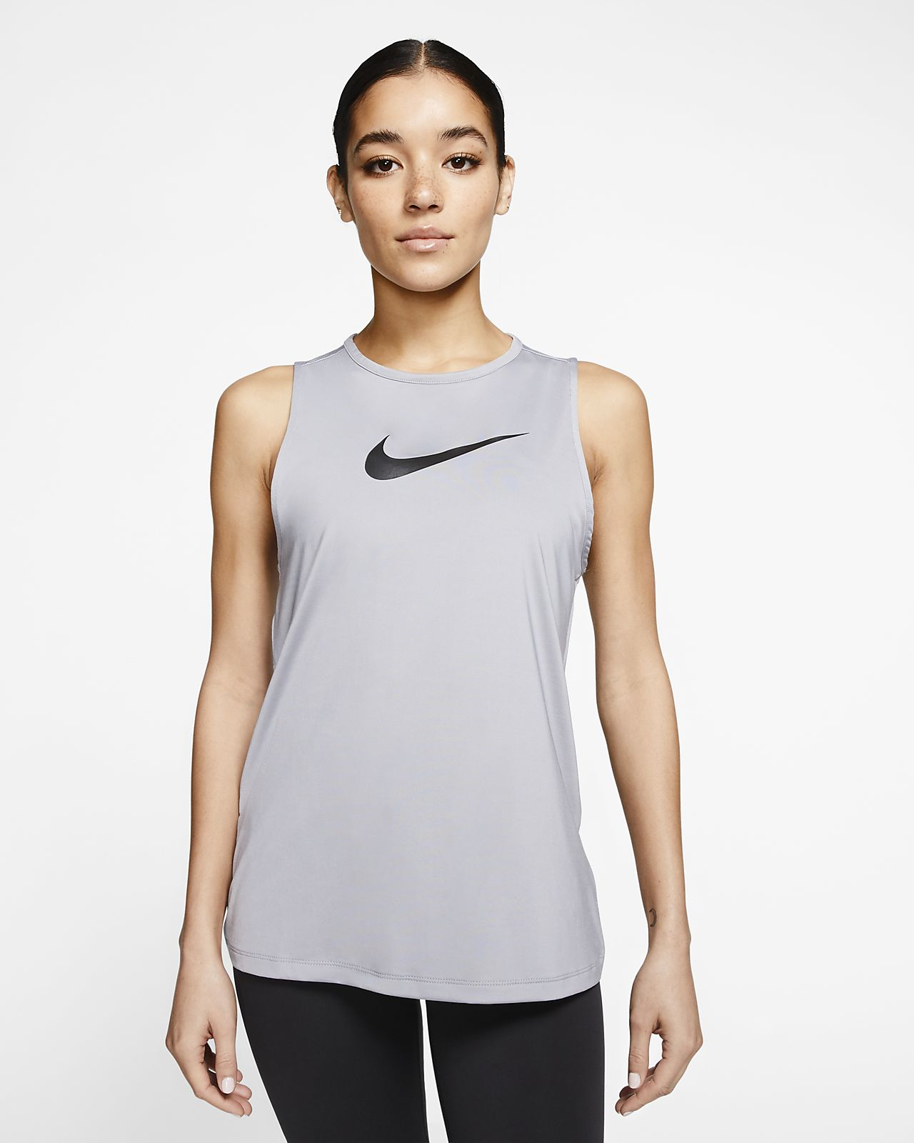 Camiseta de tirantes Swoosh para mujer Nike Pro