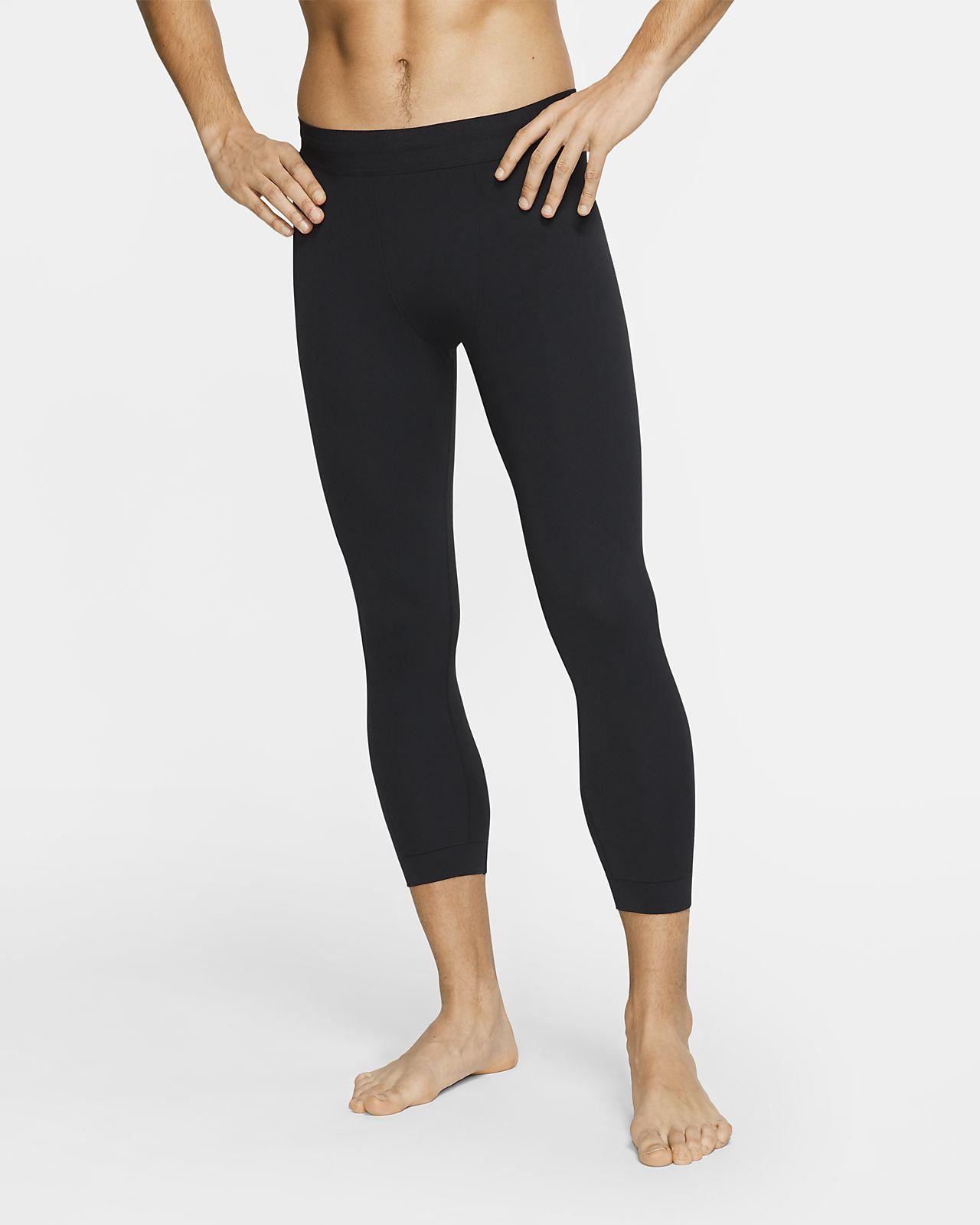 Pánské tříčtvrteční legíny Nike Yoga
