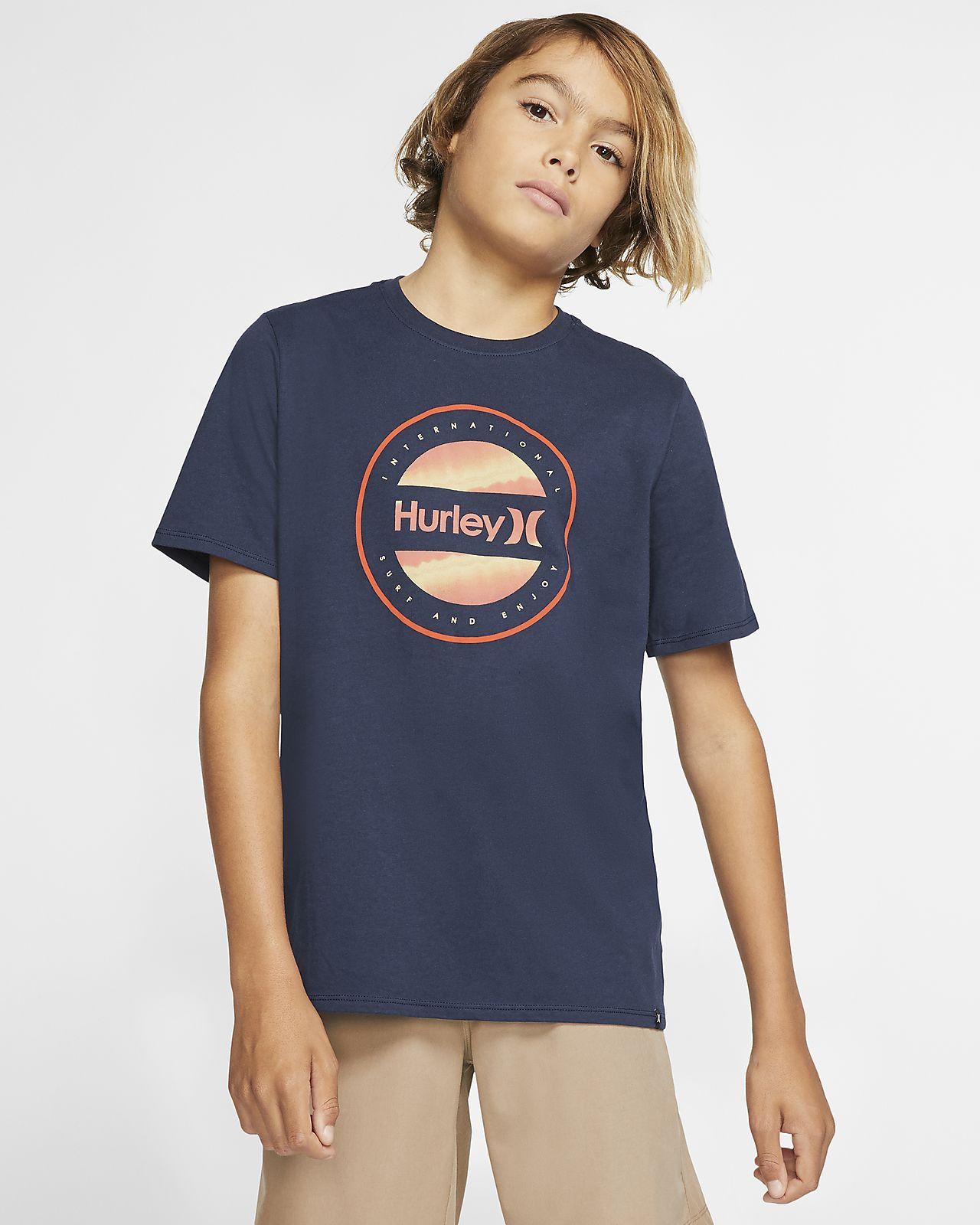 Hurley Premium Circle Dye Logo Boys' T-Shirt