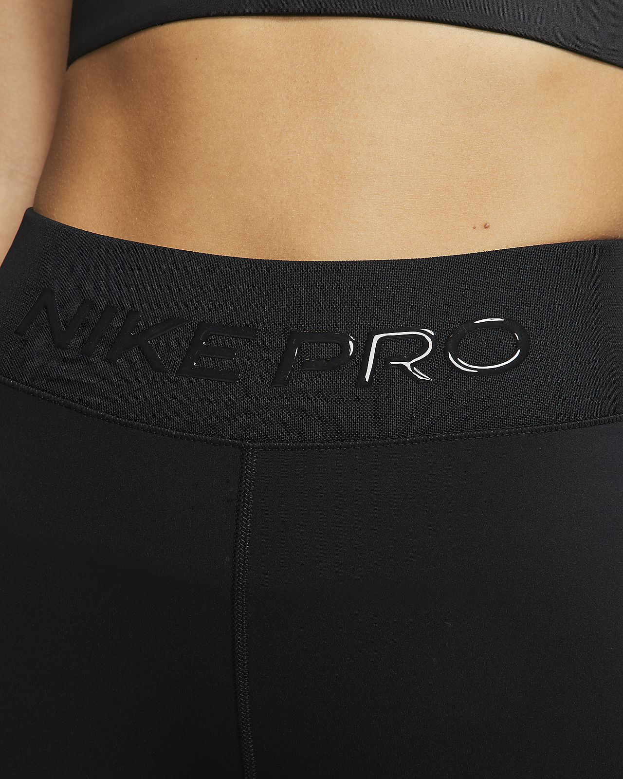 Nike Pro Damesshorts (21 cm)