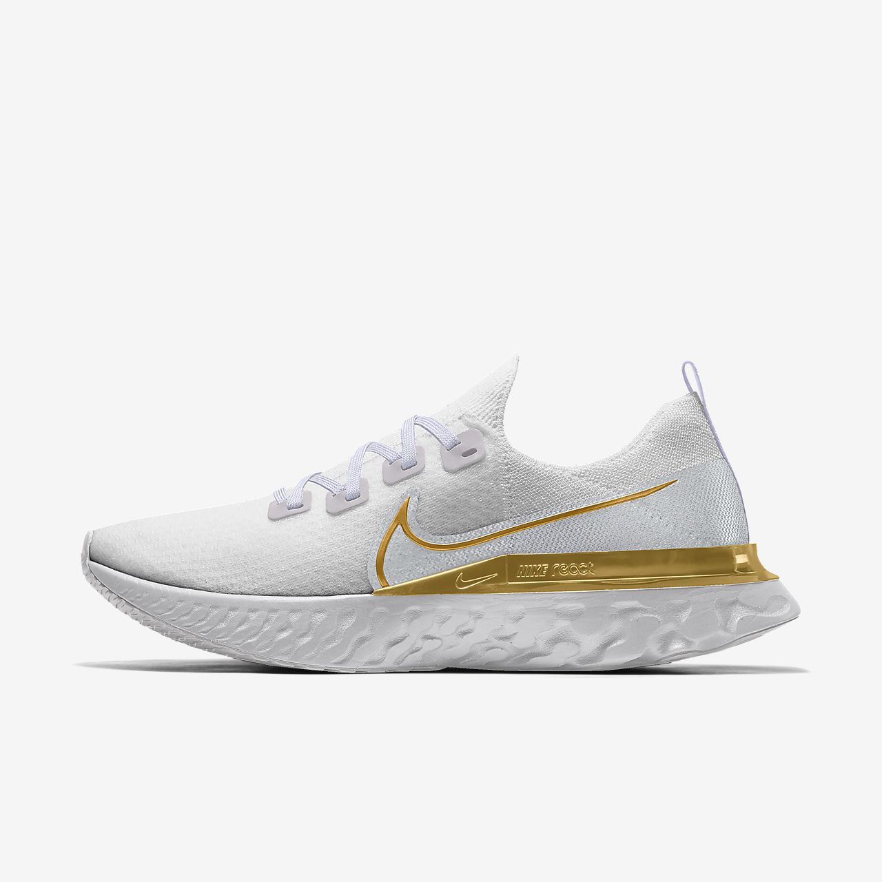 Chaussure de running personnalisable Nike React Infinity Run Flyknit By You pour Homme
