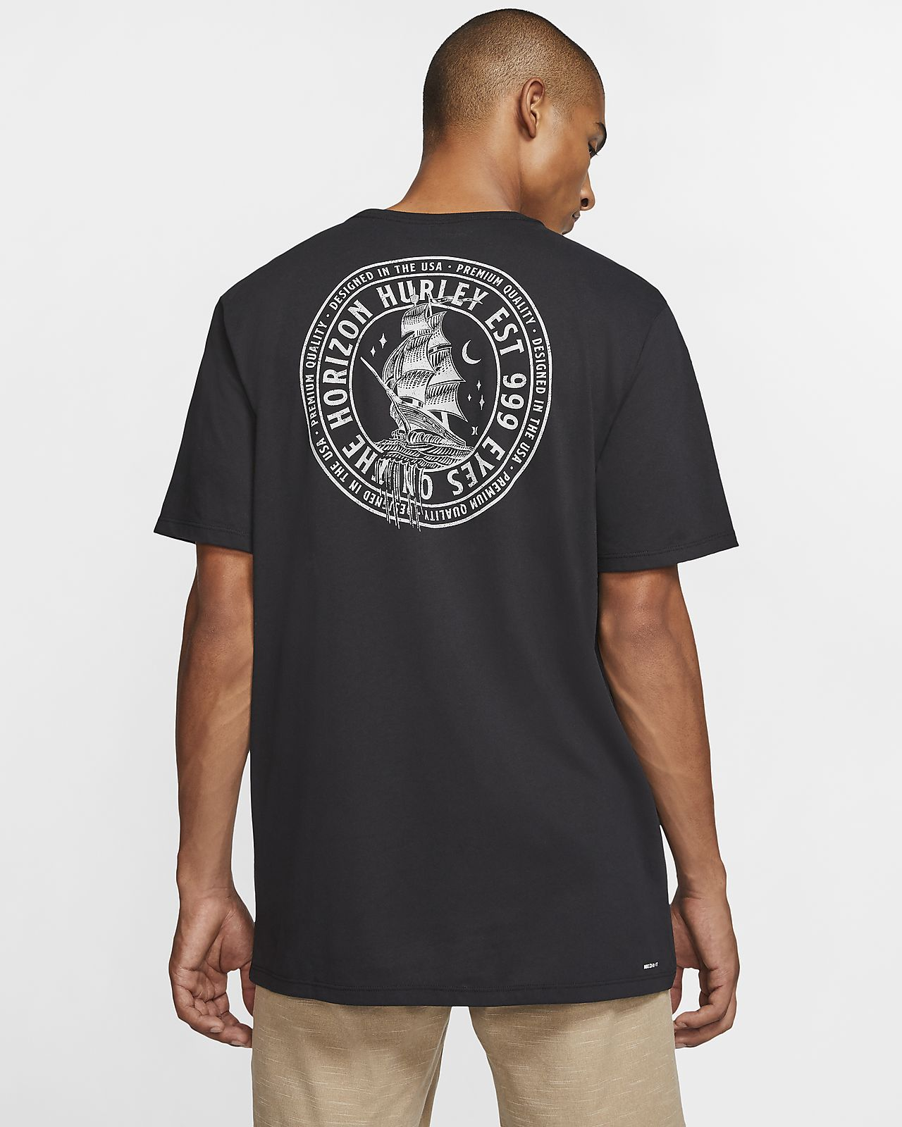 T-shirt męski Hurley Dri-FIT Overboard