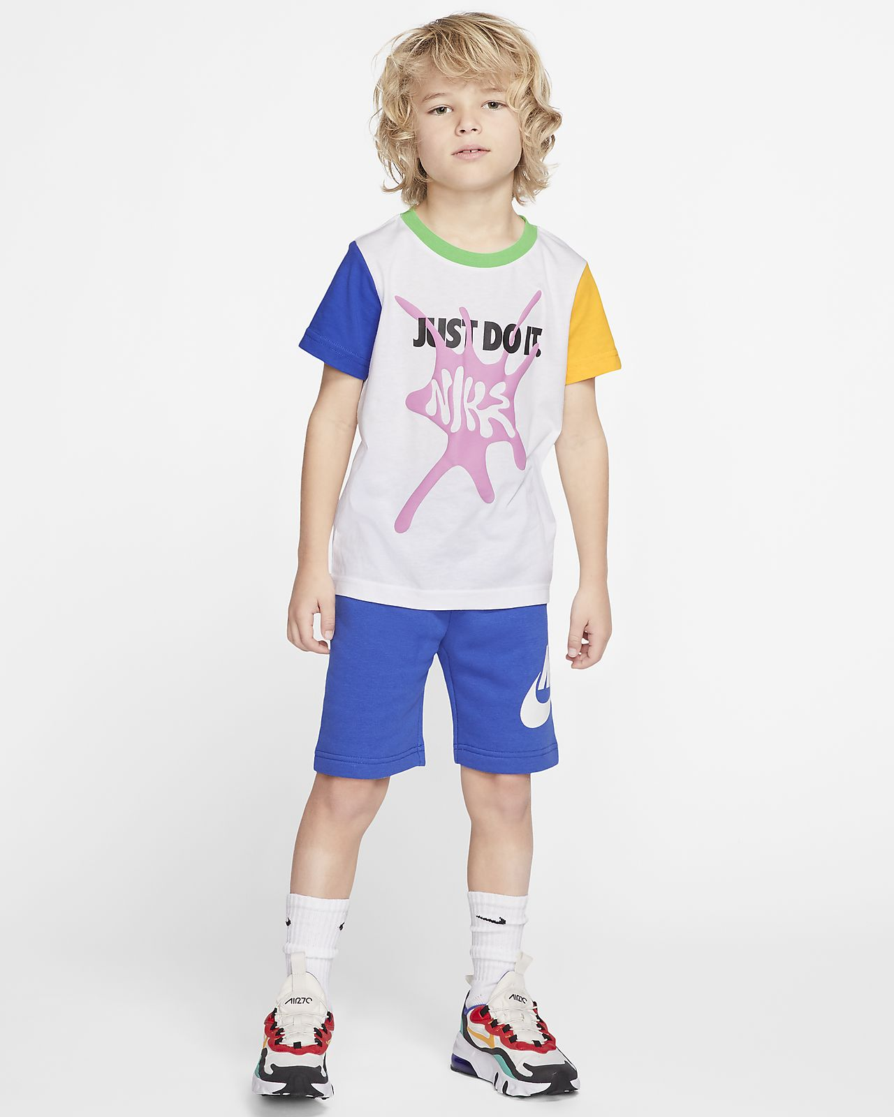 Nike Sportswear Little Kids' T-Shirt and Shorts Set