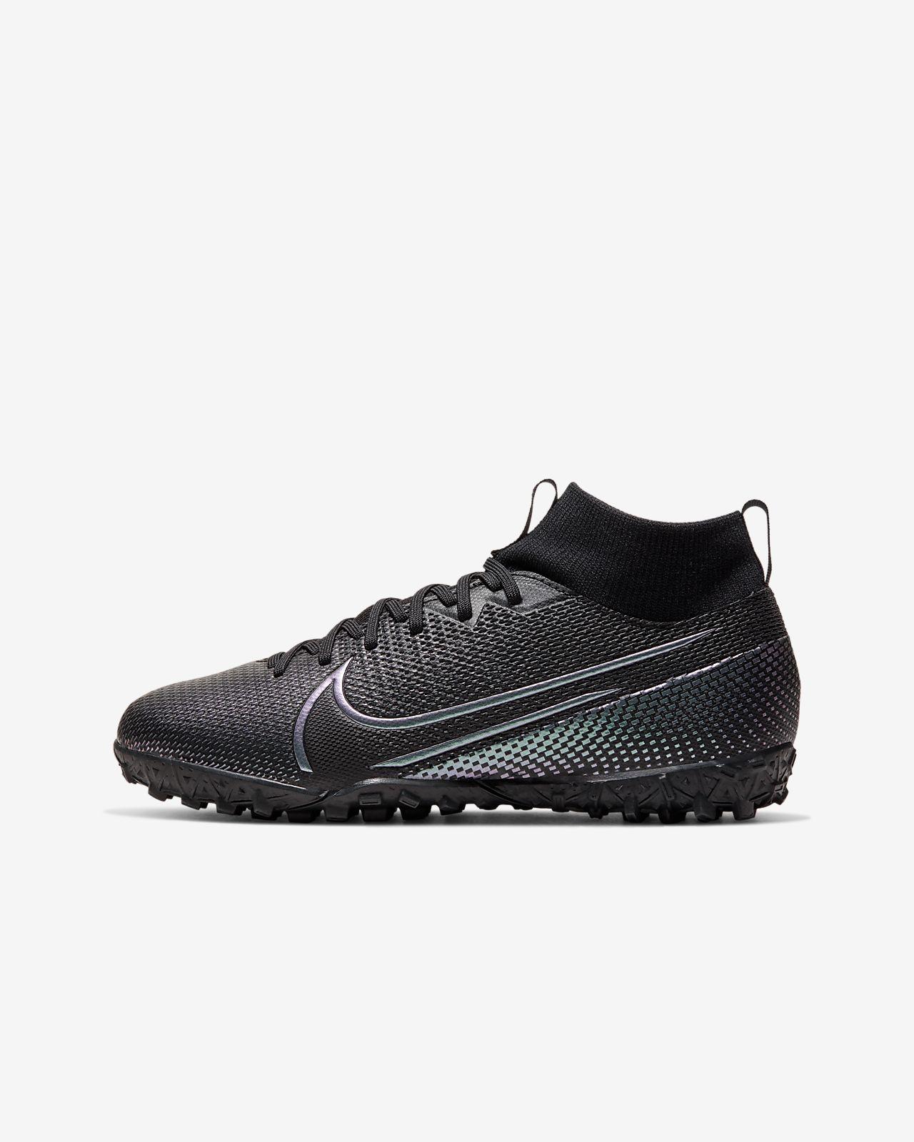 Nike Jr. Mercurial Superfly 7 Academy TF fotballsko for grus/turf til små/store barn