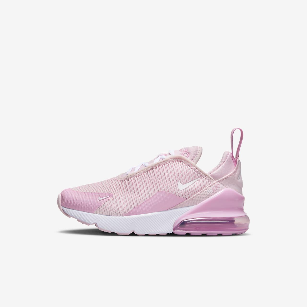 Nike Sneaker aus Mesh Modell 'Air Max 270' Schwarz