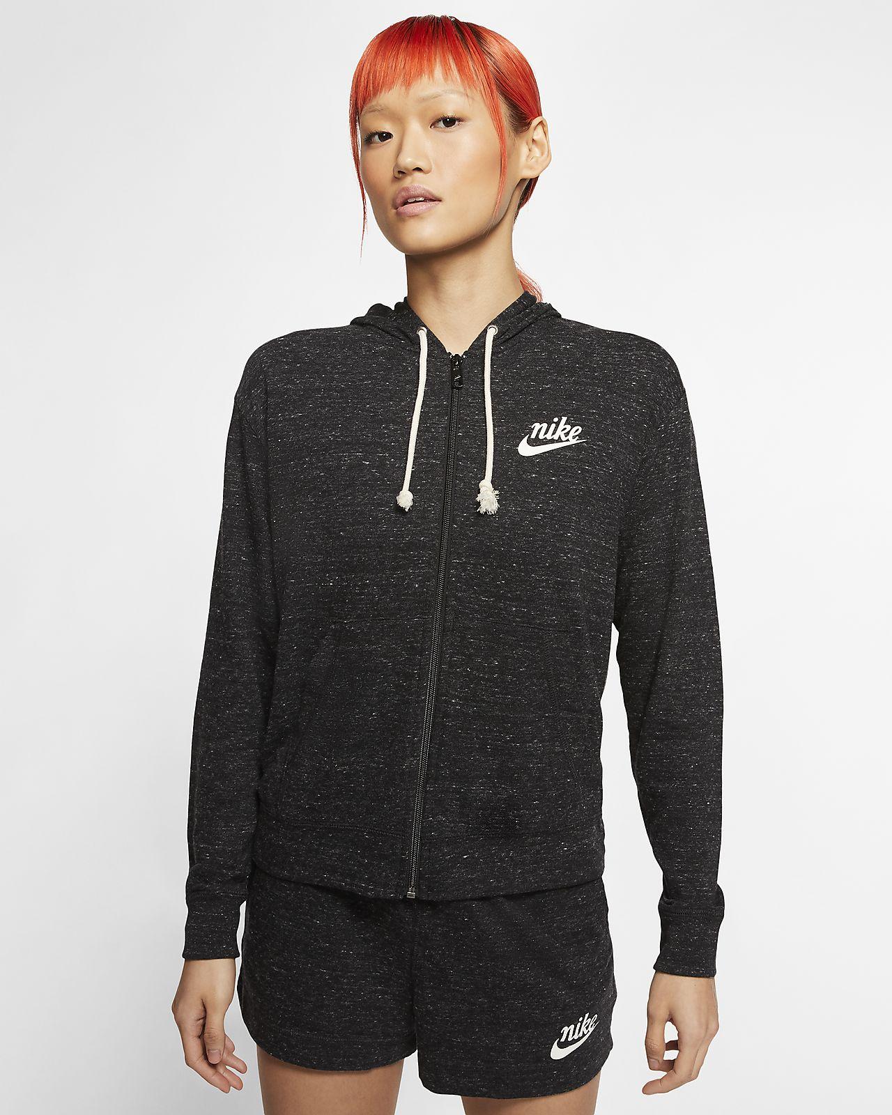 Felpa con cappuccio Nike Sportswear Gym Vintage Donna (Plus Size)