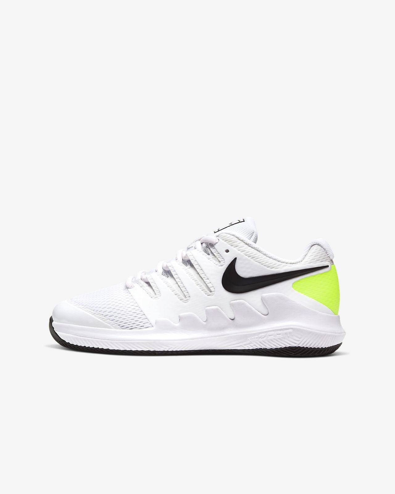 Παπούτσι τένις NikeCourt Jr. Vapor X για μικρά/μεγάλα παιδιά