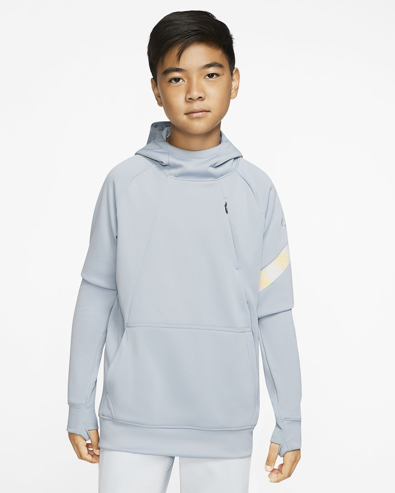 Nike Dri FIT Academy Pro Older Kids' Pullover Football Hoodie