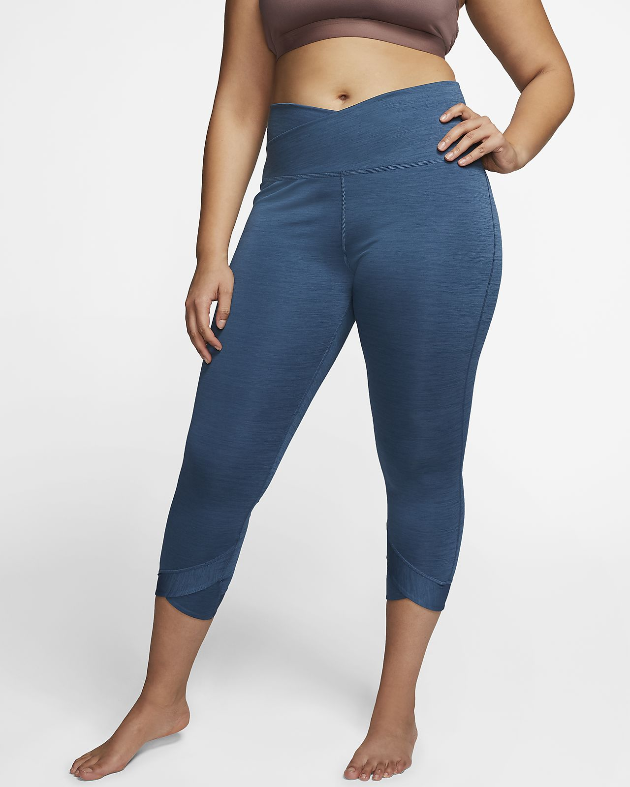 Nike Yoga Women's 7/8 Tights (Plus Size)