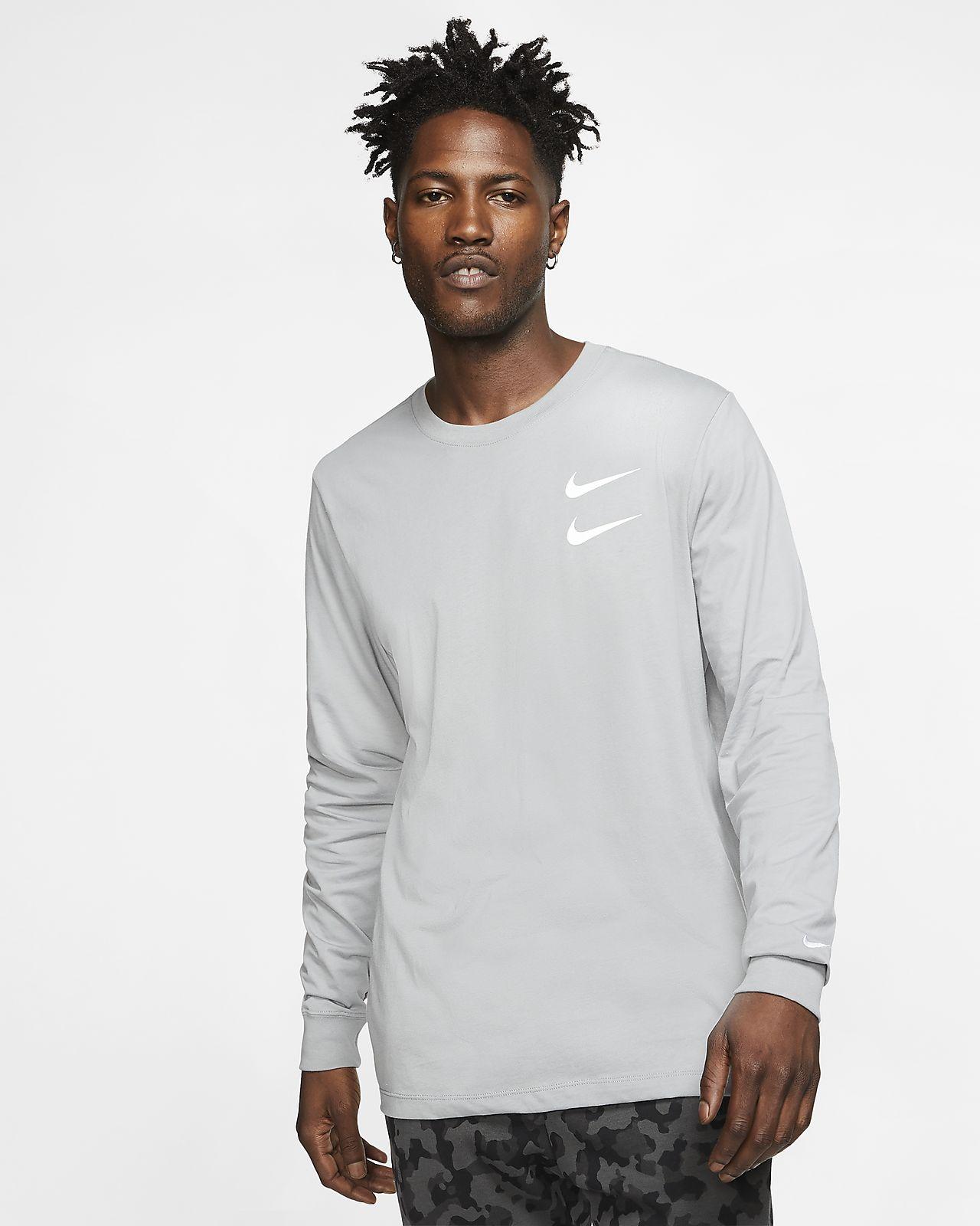T-shirt a manica lunga Nike Sportswear Swoosh - Uomo