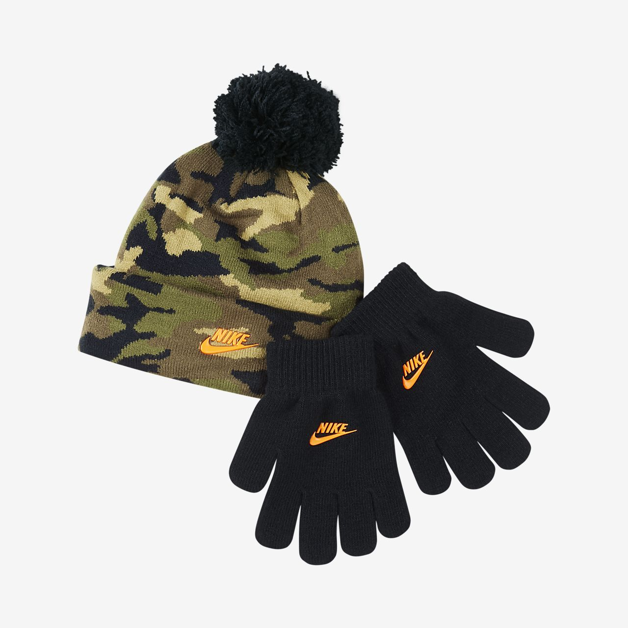 Nike Younger Kids' Beanie and Gloves Set