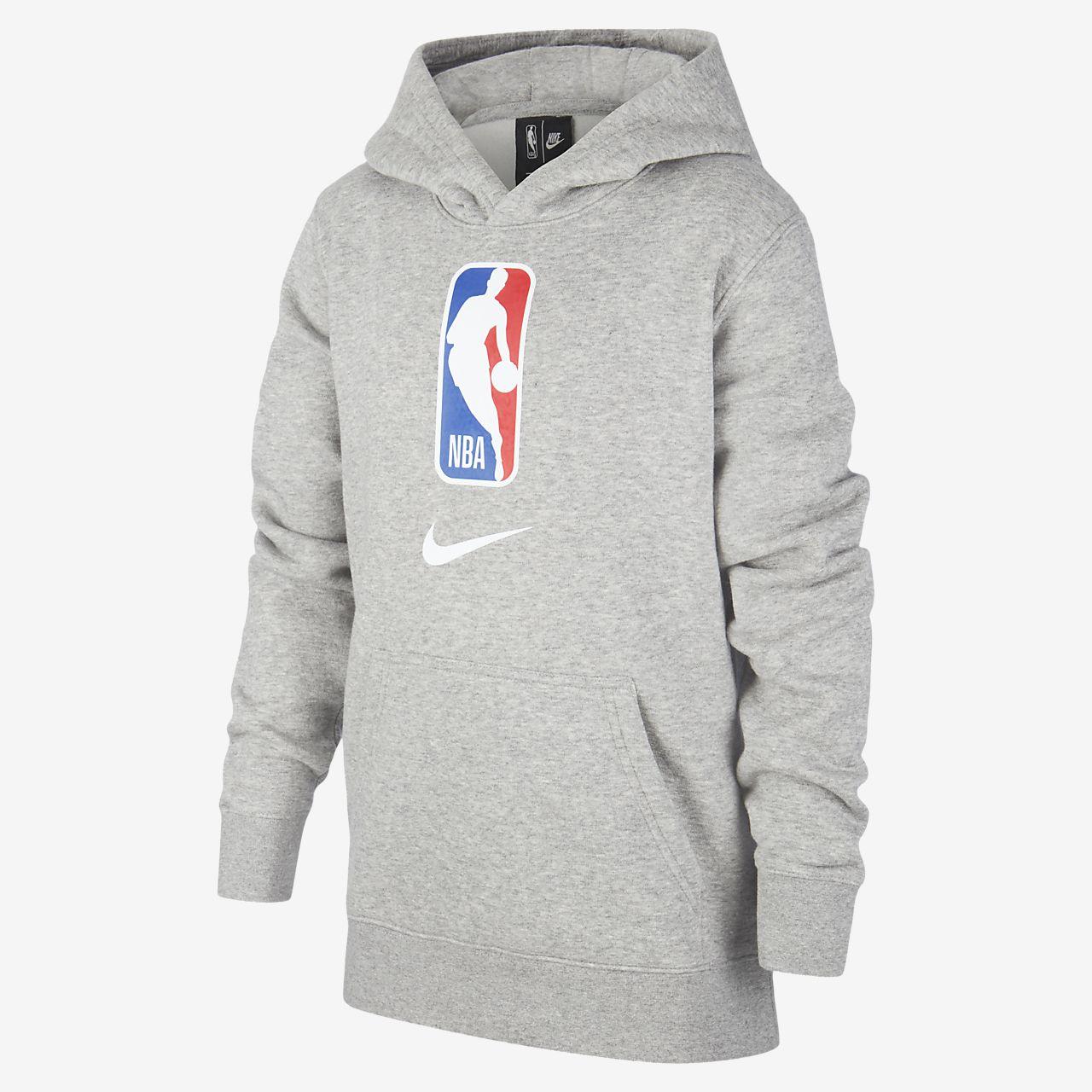 Mikina Nike NBA Team 31 s kapucí pro větší děti