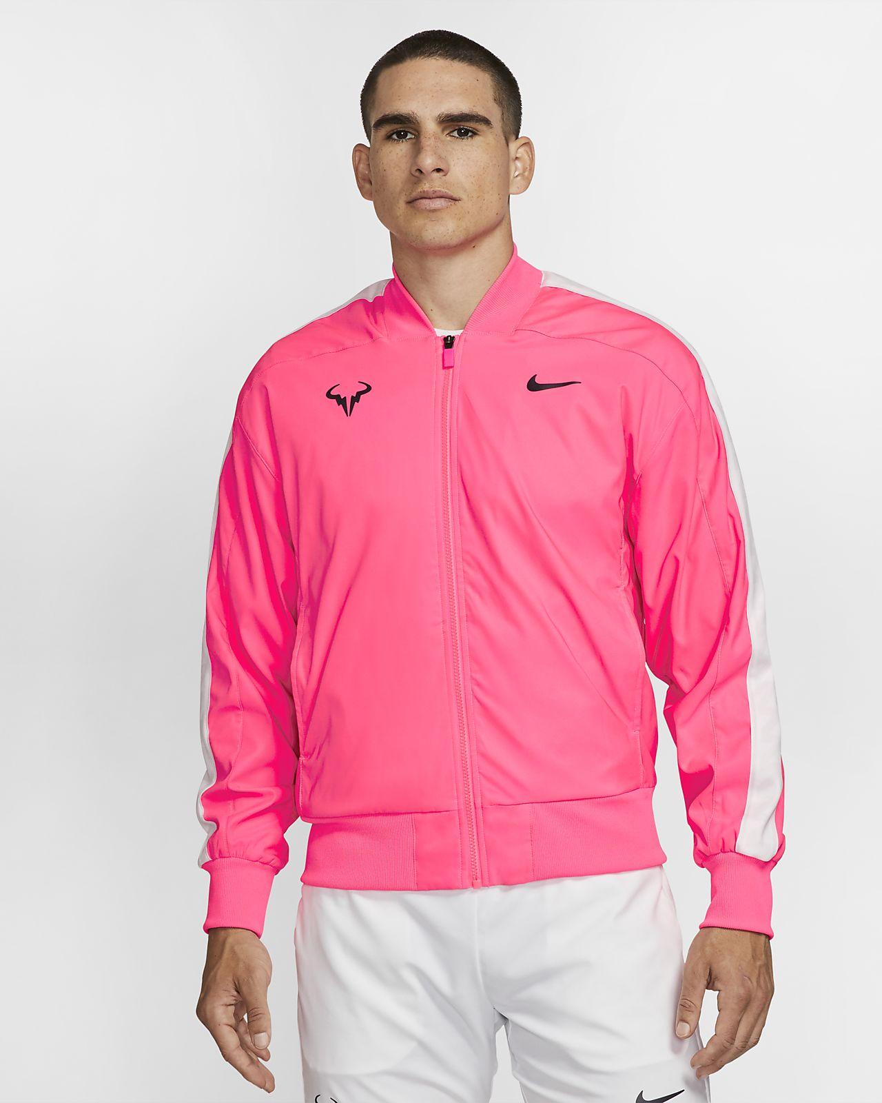 Rafa tennisjakke til herre