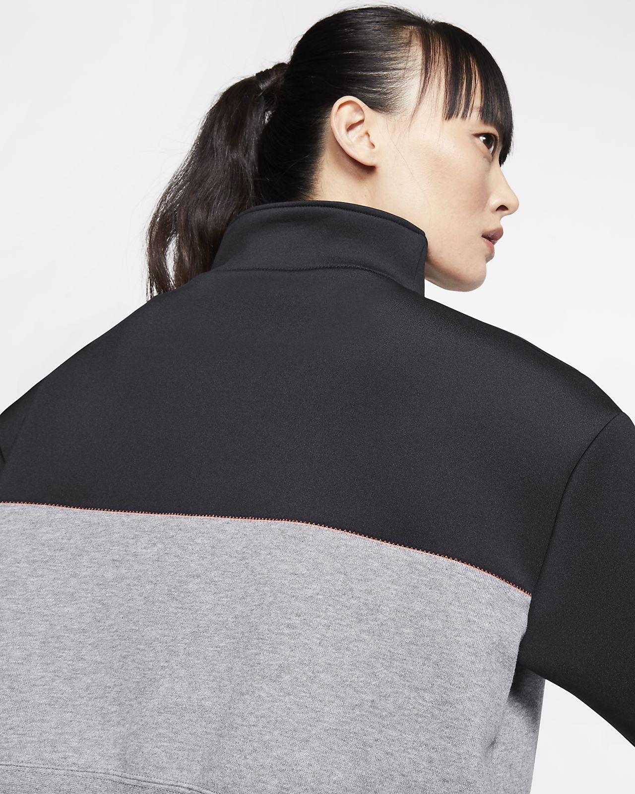 Nike Pro Get Fit Icon Clash fleecejakke med halv glidelås til dame