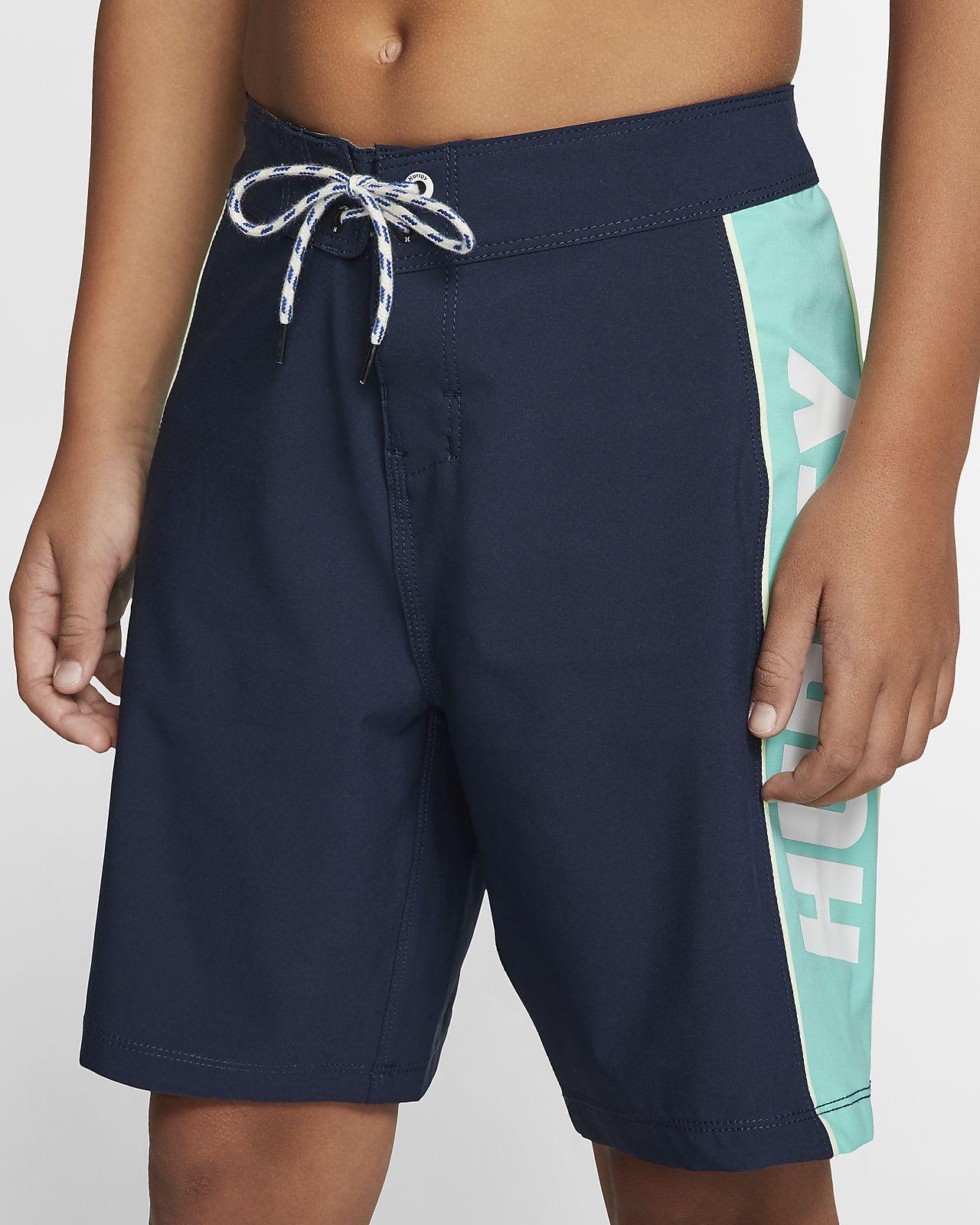 Shorts de playa para niño Hurley Phantom Fastlane Solid