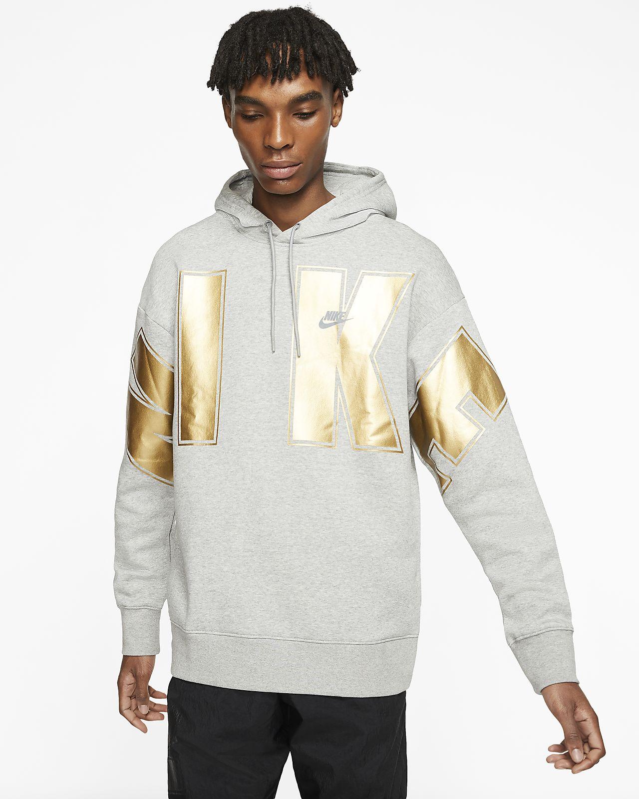 Hoodie pullover de lã cardada Nike Sportswear
