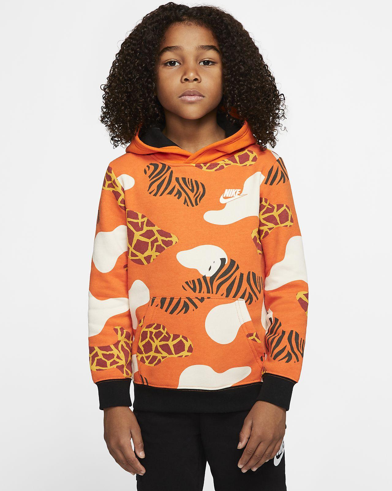 Nike Sportswear Little Kids' Fleece Pullover Hoodie