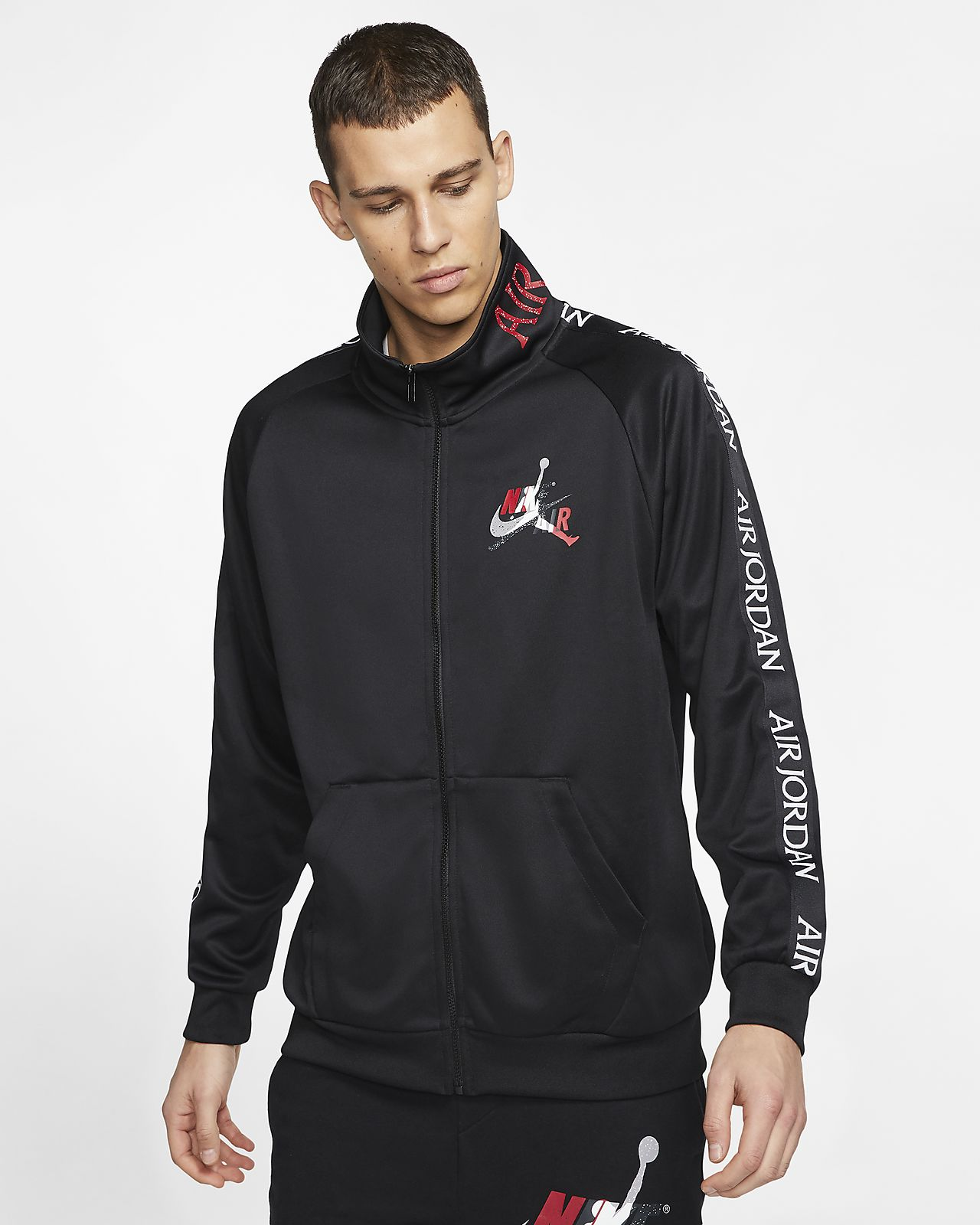 Tricot Warm-Up Jacket. Nike BG