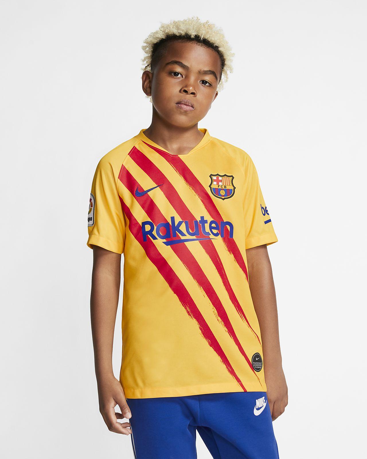 F.C. Barcelona Stadium Fourth Older Kids' Football Shirt