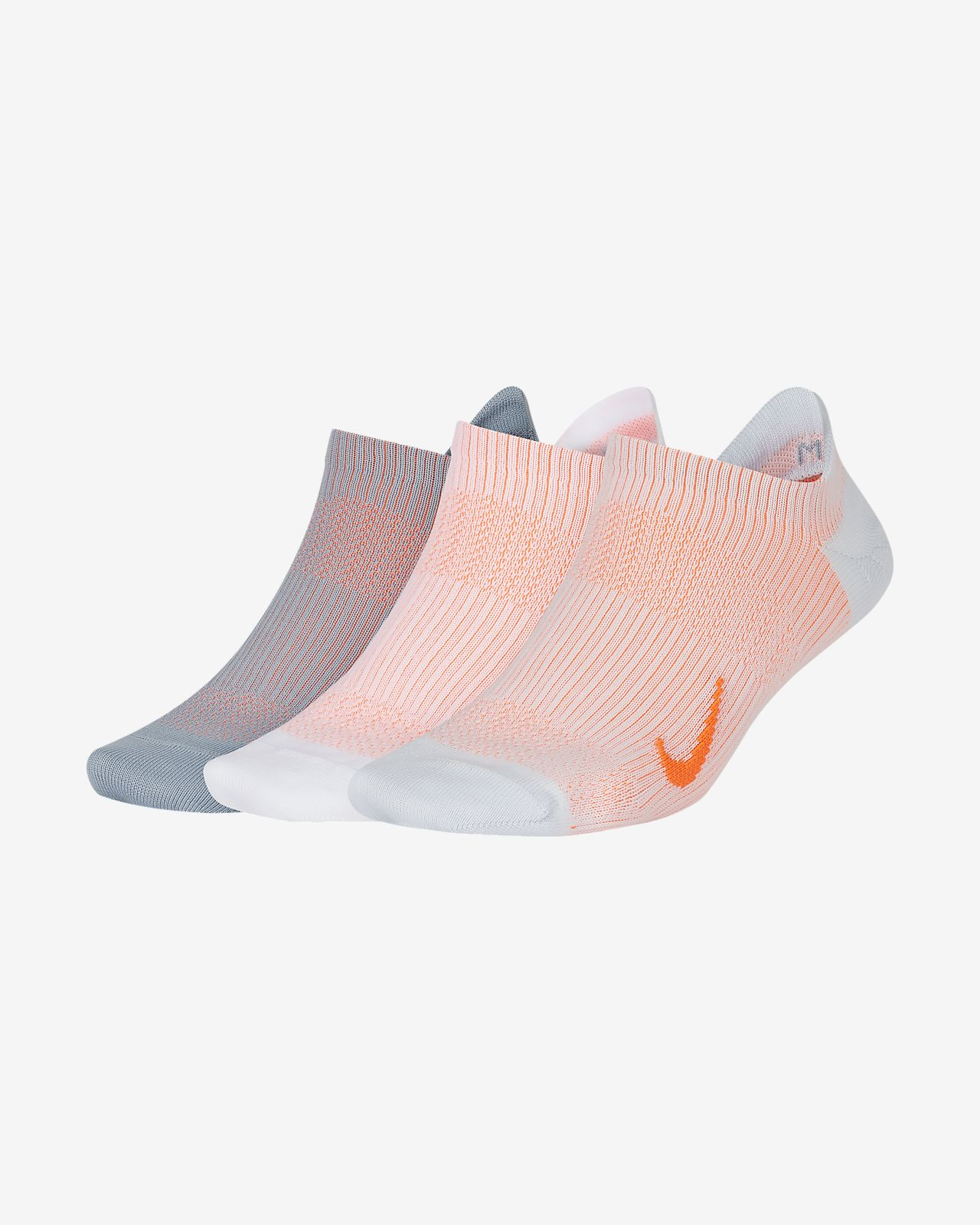 Nike Everyday Plus Lightweight Women's Training No-Show Socks (3 Pair)