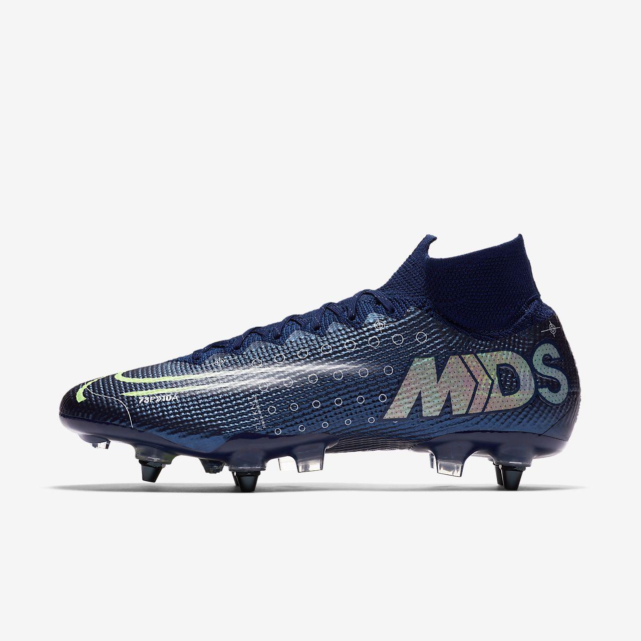 Nike Mercurial Superfly 7 Elite MDS SG-PRO Anti-Clog Traction-fodboldstøvle (vådt græs)