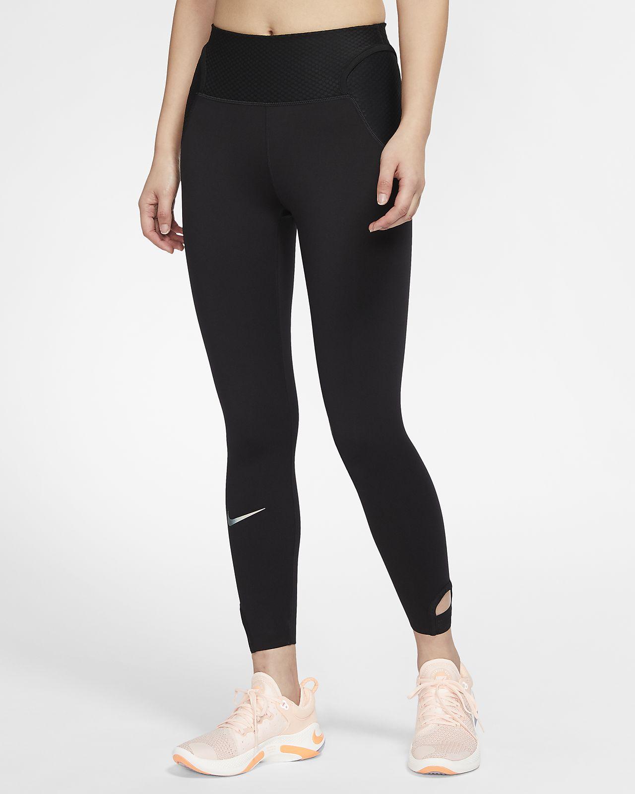 กางเกงวิ่งรัดรูปผู้หญิง 7/8 ส่วน Nike City Ready