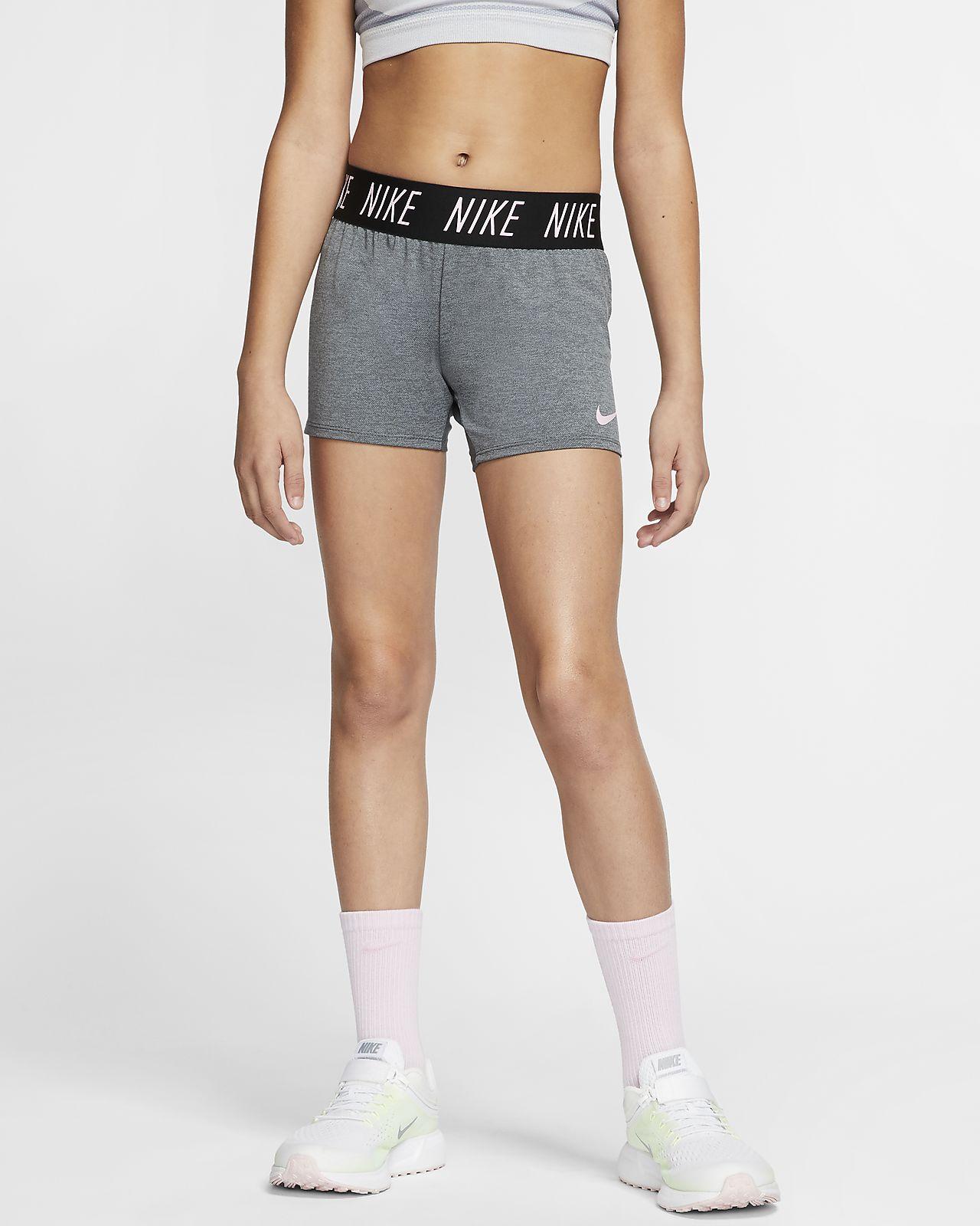 "Nike Dri-FIT Tempo Big Kids' (Girls')' 4"" Training Shorts"
