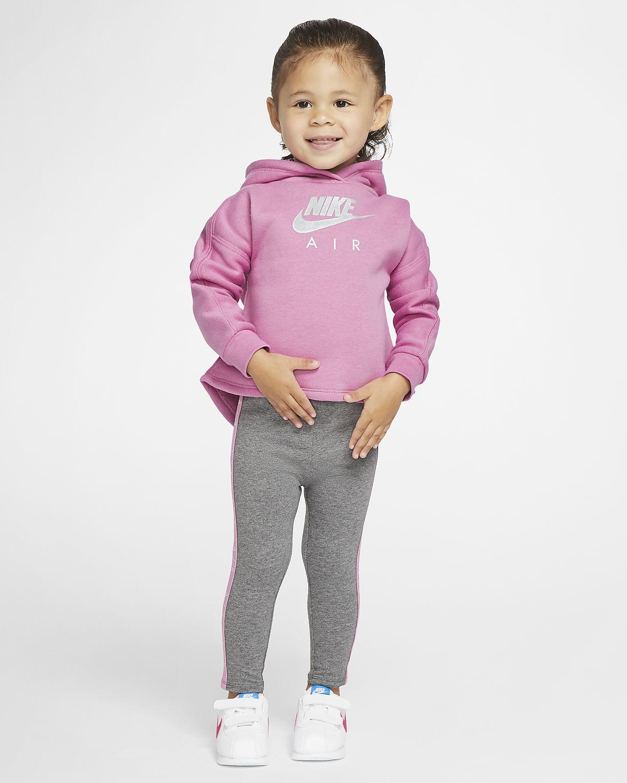 Set med huvtröja och leggings Nike Air för baby (12-24 mån)