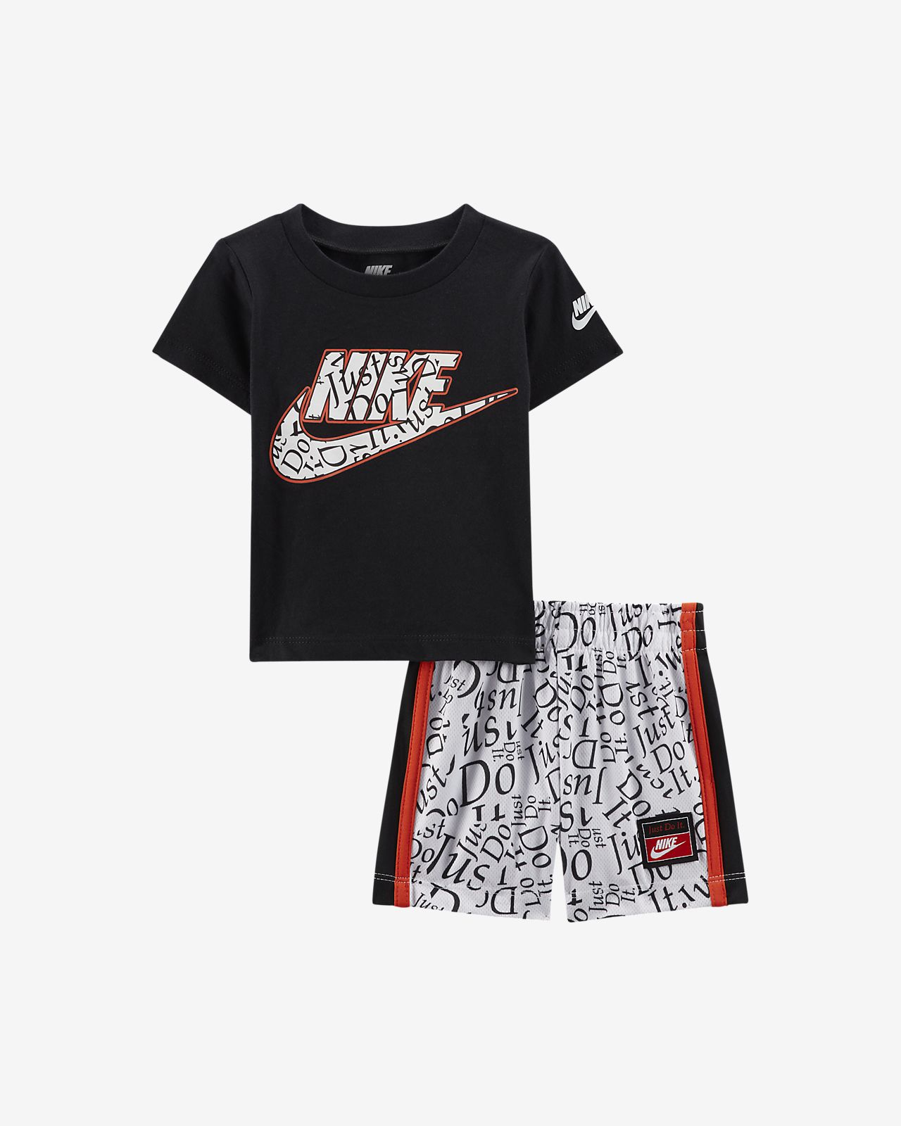 Nike Baby (12-24M) T-Shirt and Shorts Set