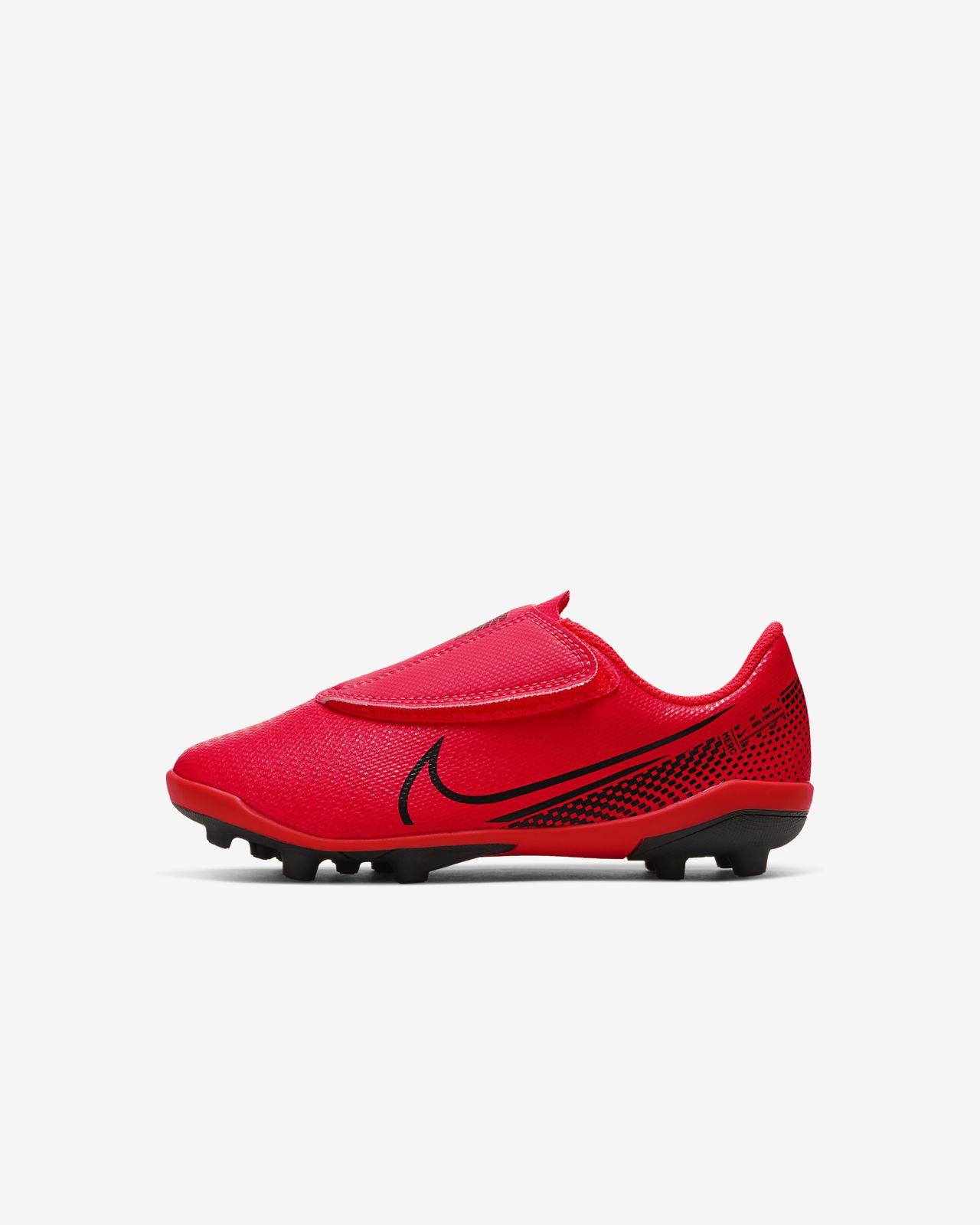 Nike Jr. Mercurial Vapor 13 Club MG Fußballschuh für verschiedene Böden für Kleinkinder/jüngere Kinder