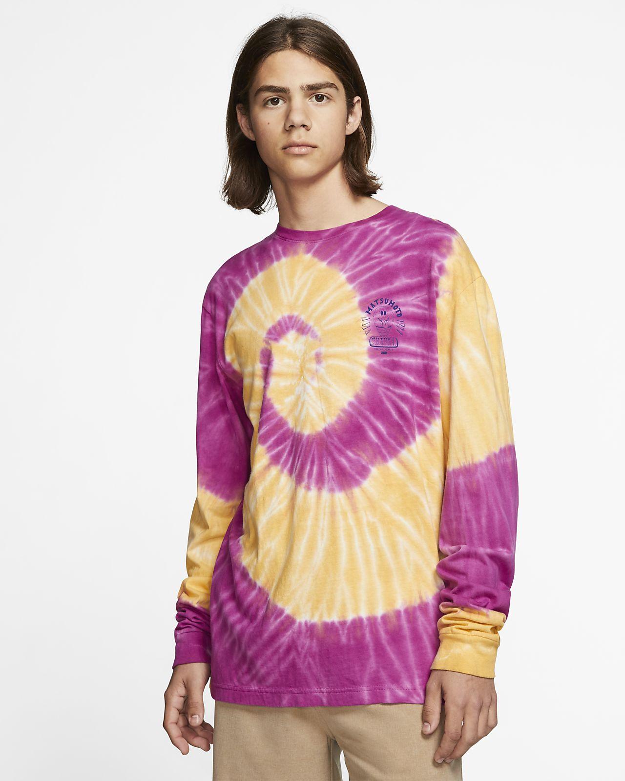 Hurley x Matsumoto Shave Ice Tie Dye T skjorte til herre