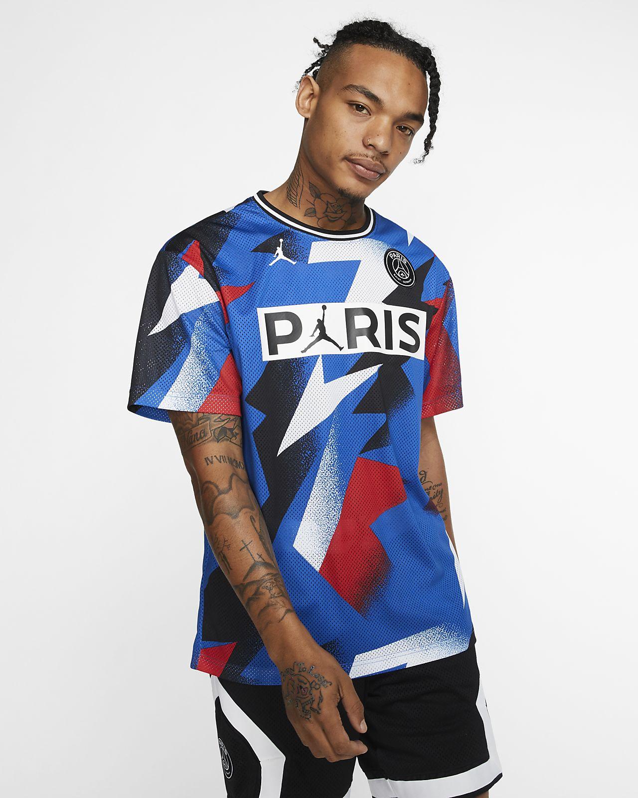 Maglia in mesh a manica corta Paris Saint-Germain