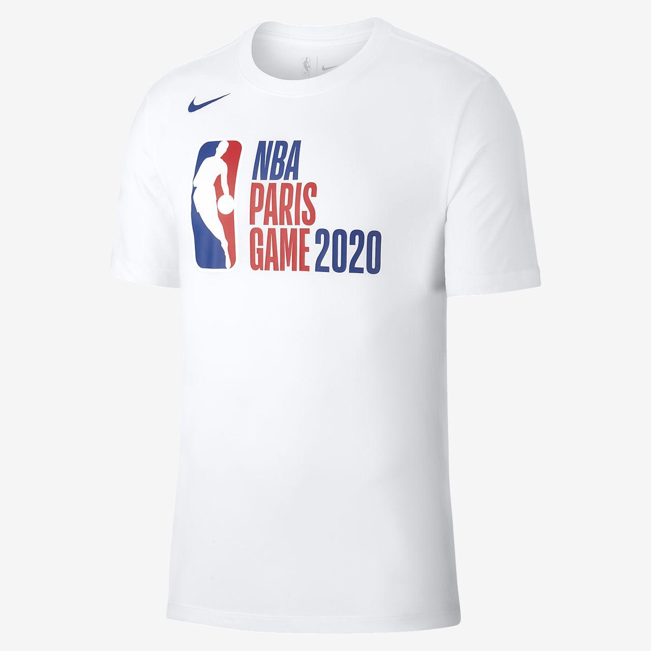 Playera para hombre Nike NBA Paris Game 2020